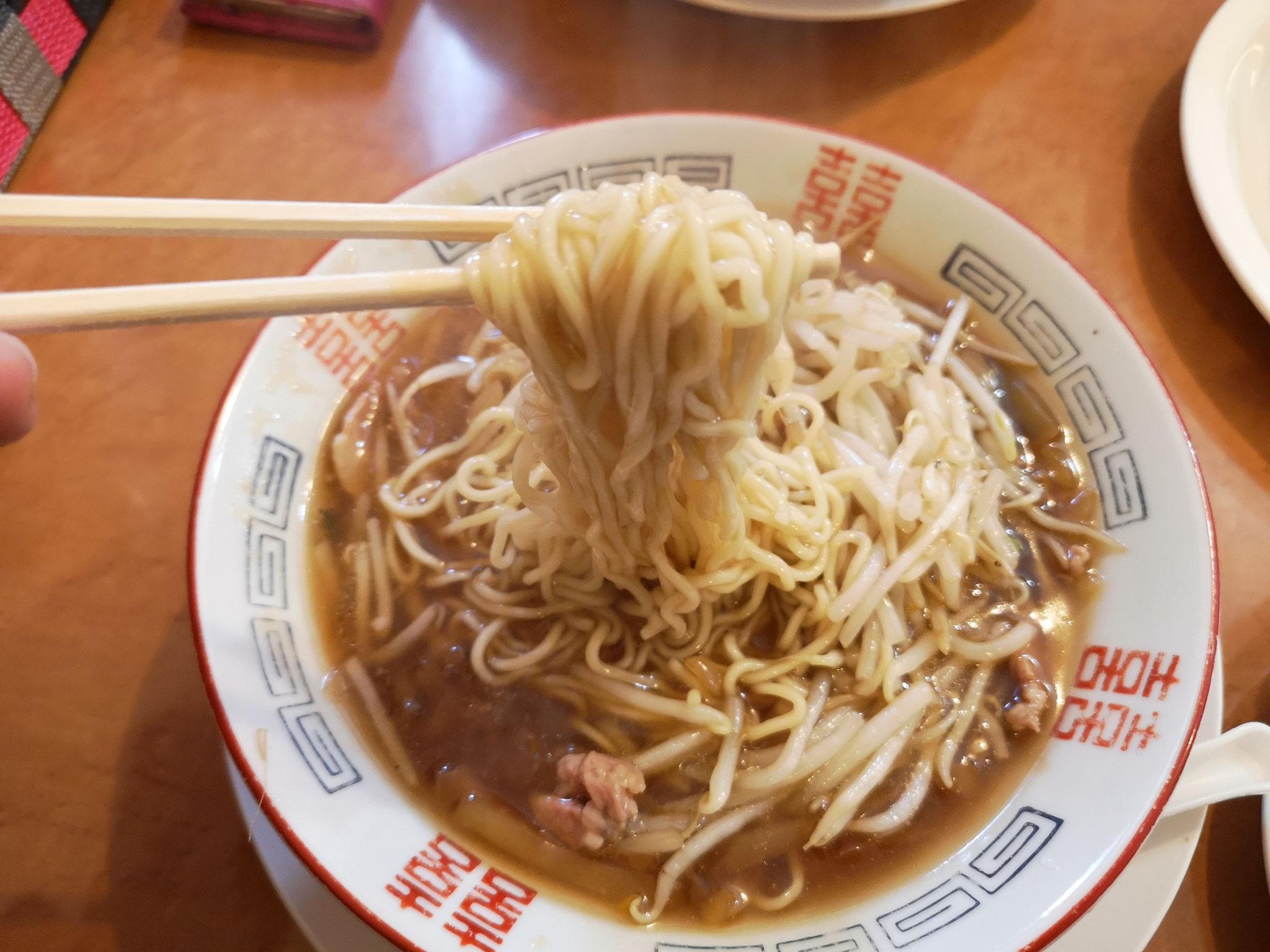 寒い冬にはもってこい、いつまでも熱々な麺