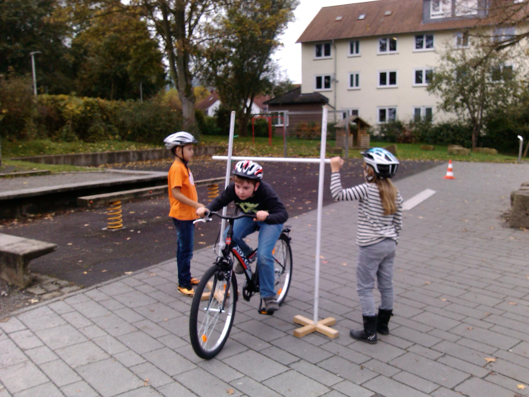Motorisches Radfahrtraining