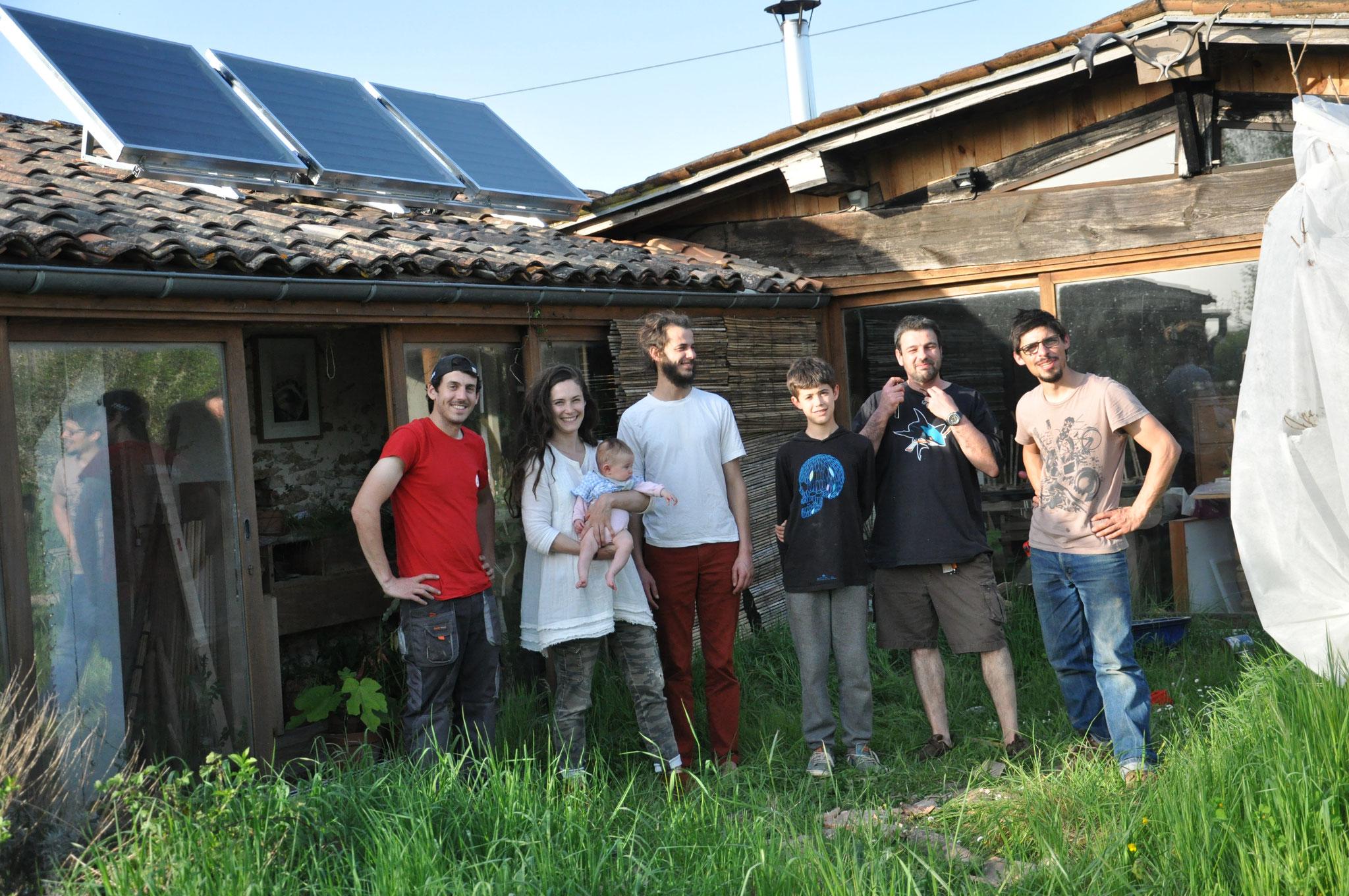 CAP, la famille Soleil et les voisins qui ont prêté main forte