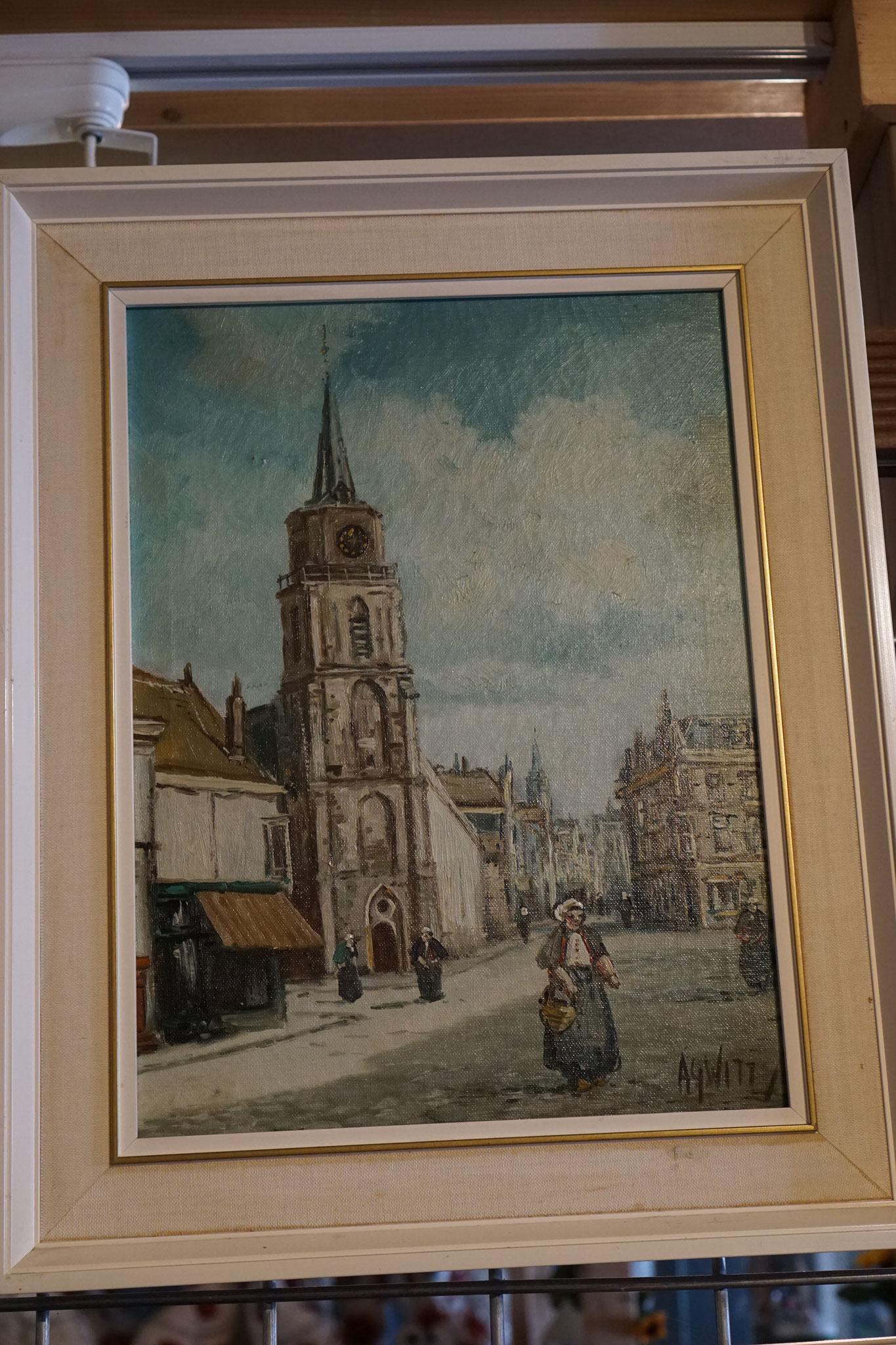 '  Naam Schilderij  ' Naam Schilder: ..... Prijs: ....