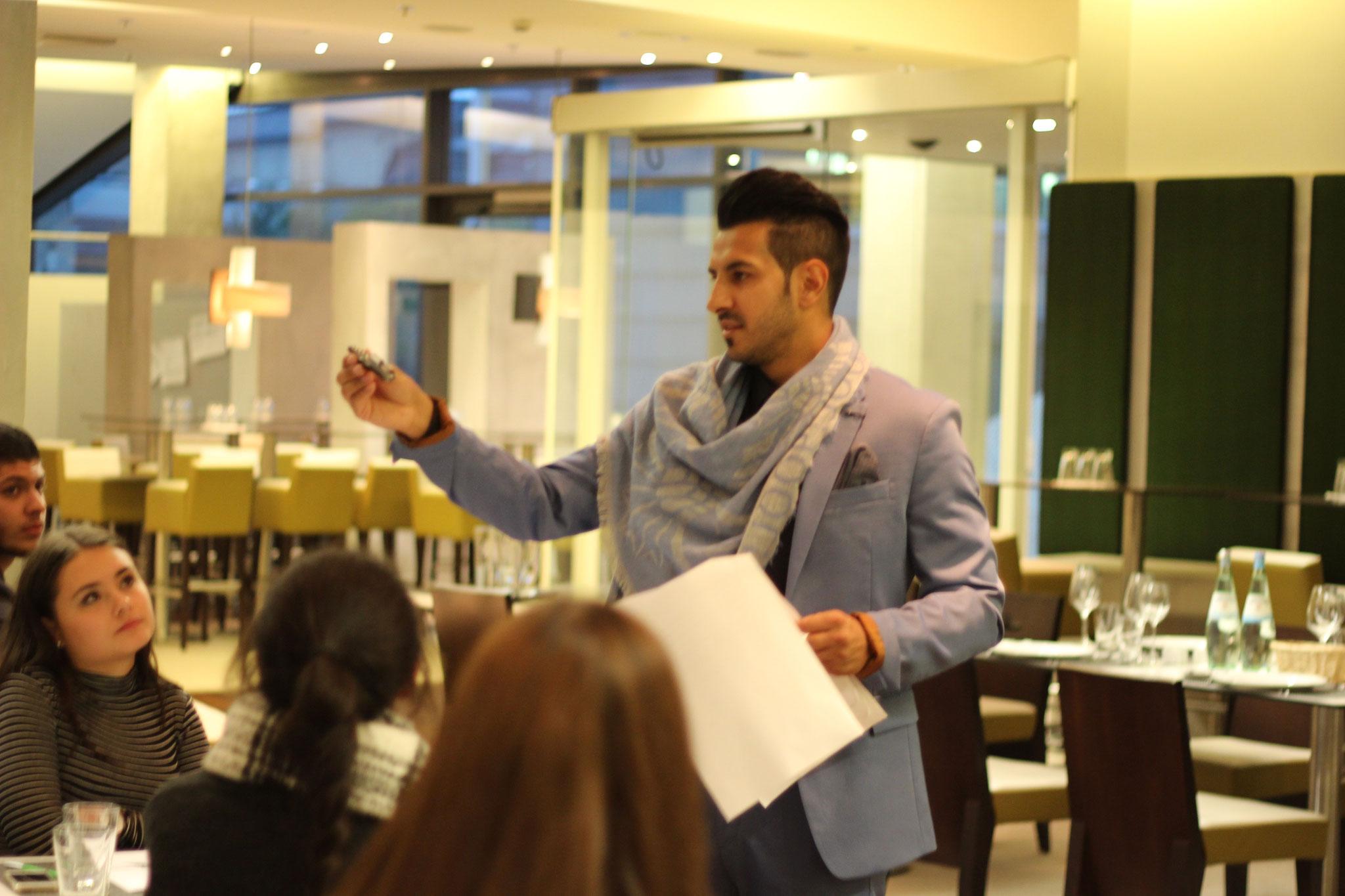 Geschäftsführer Hr.Özay Salim der ZGG-GmbH