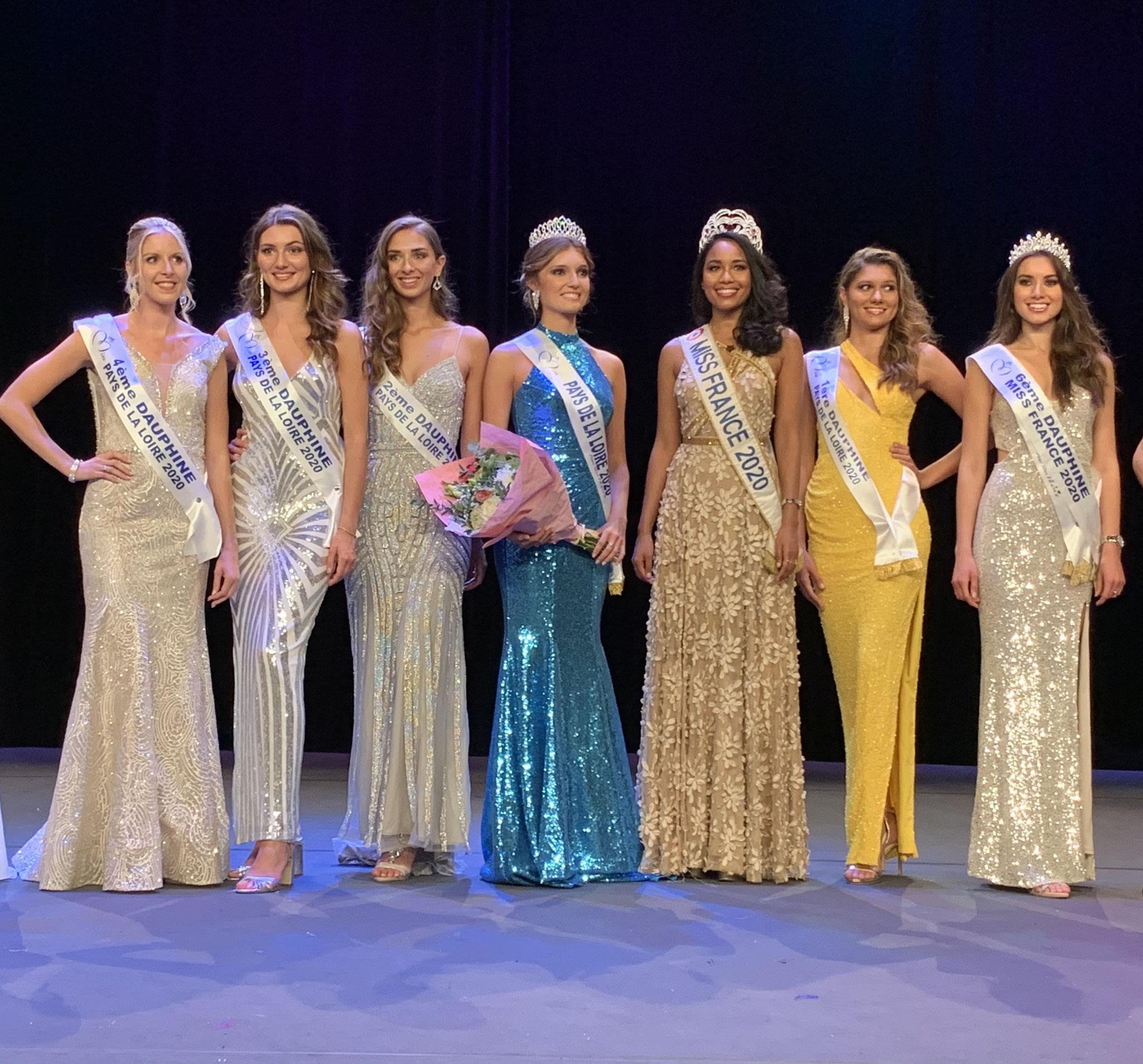 Election Miss Pays de la Loire 2020