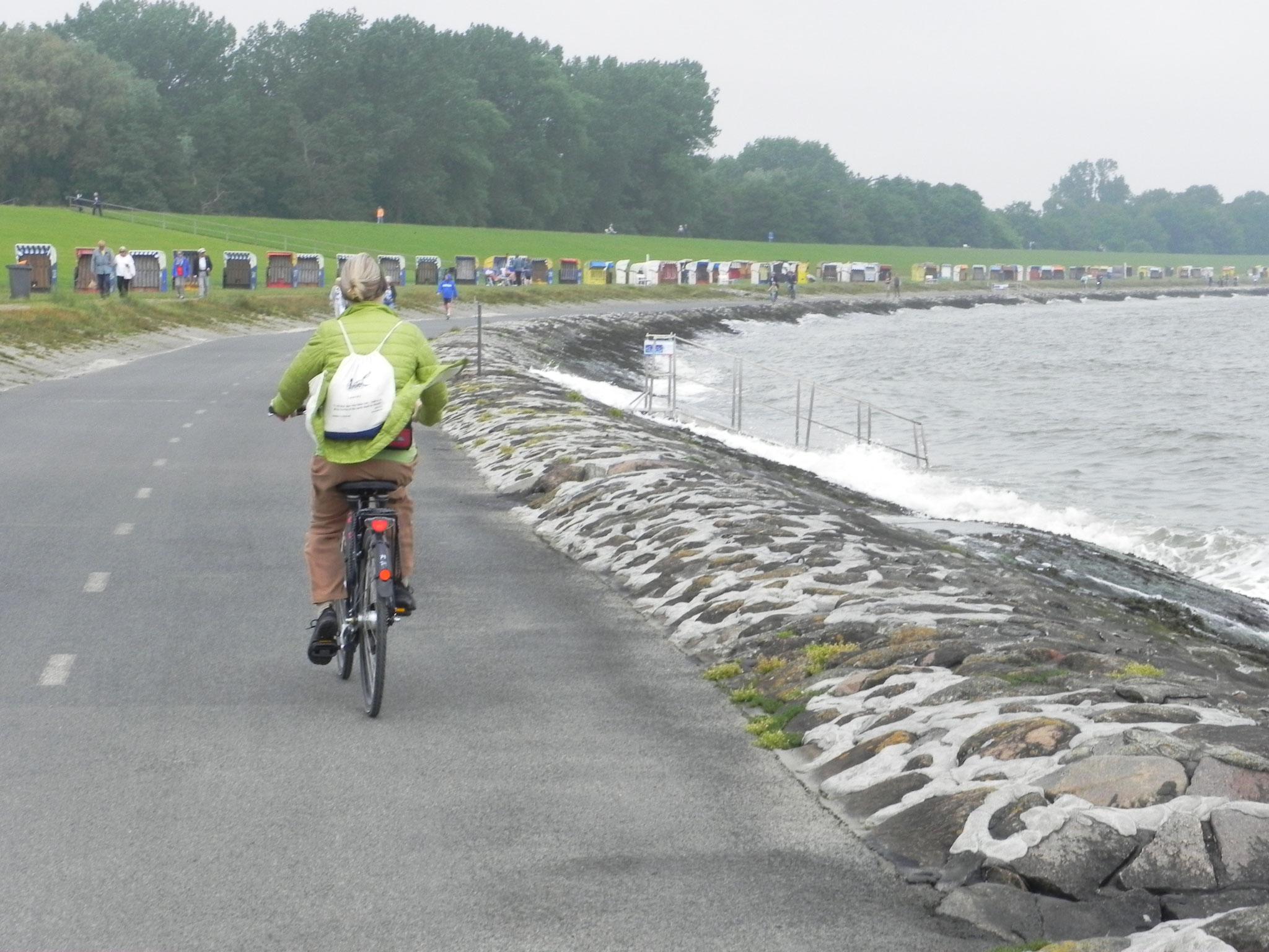 Mit dem Rad lässt sich die Landschaft noch viel schöner entdecken.