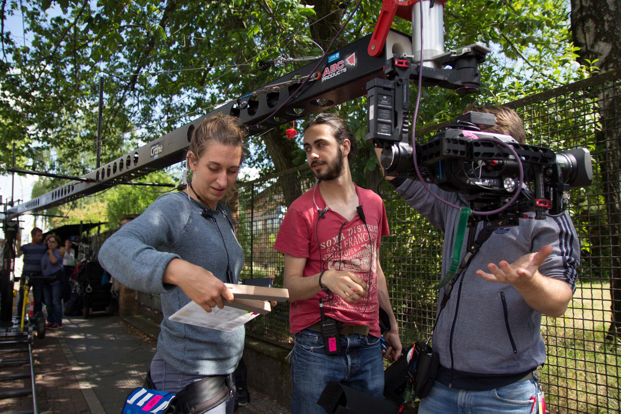 Die Kameraassistenten