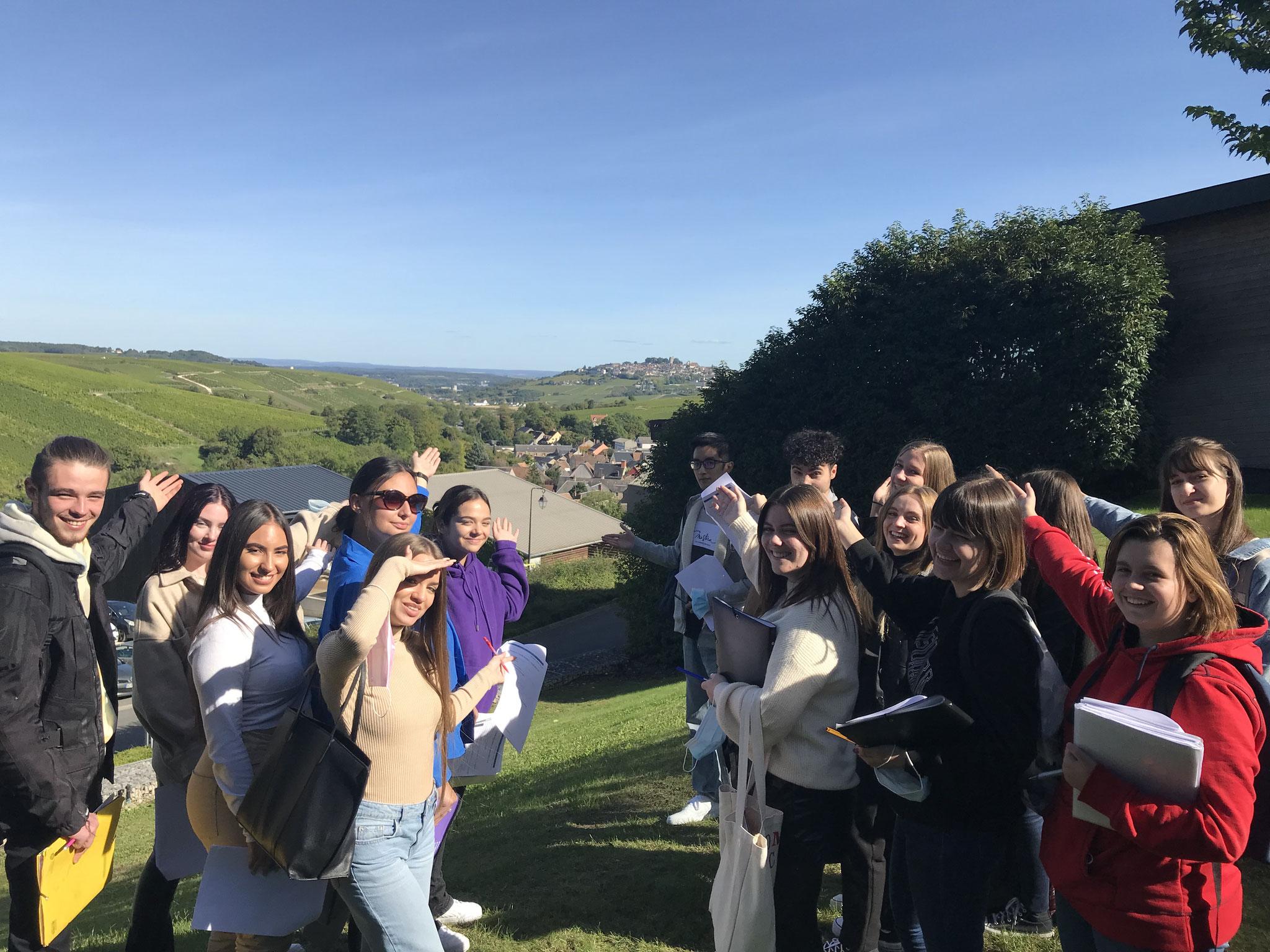 IES SAINTE-MARIE : Découverte d'un domaine viticole de Chavignol pour les BTS Tourisme 1re année (30 septembre 2021)