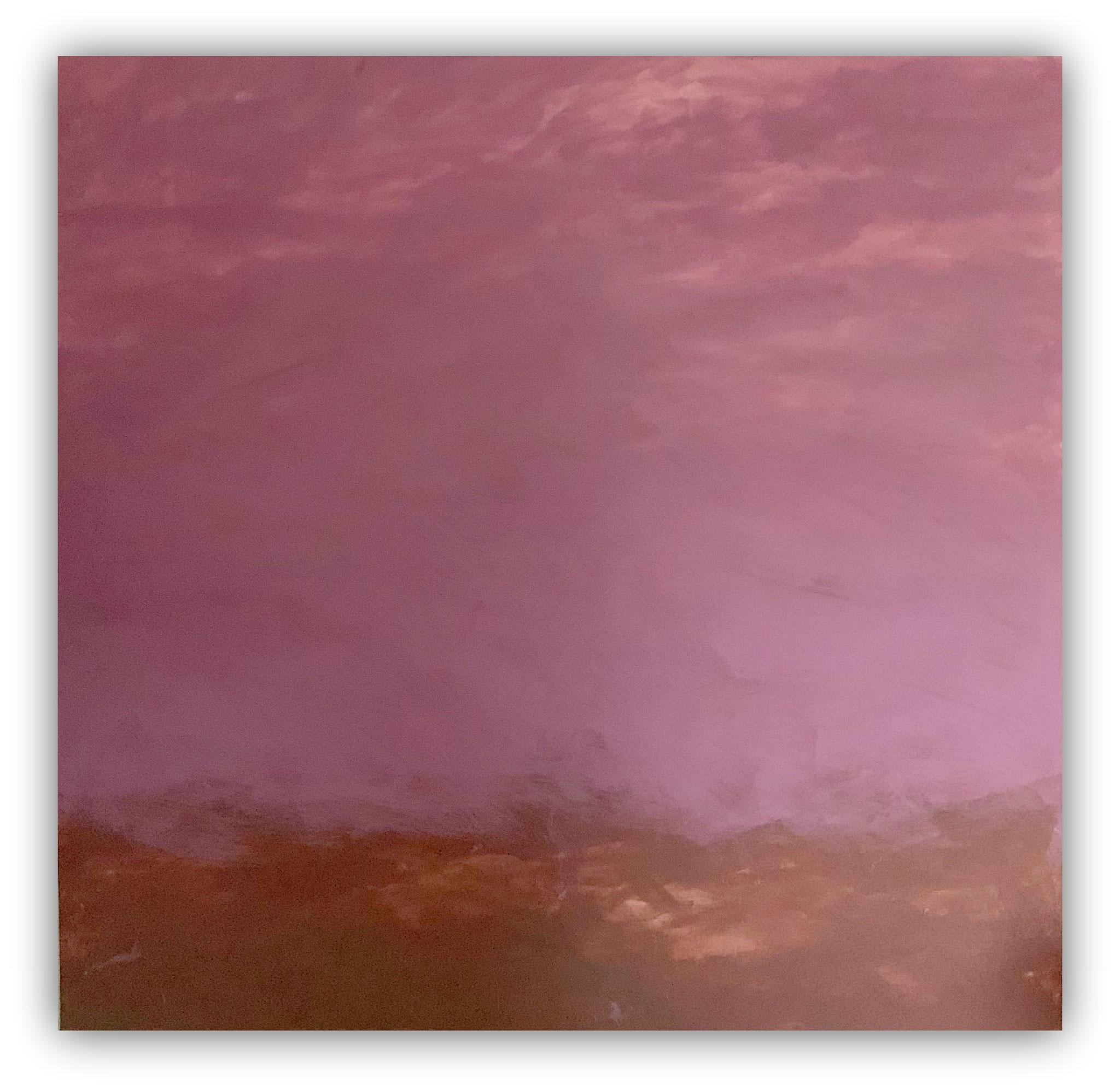 Ybbsufer 162 x 162 cm/ Dispersion  auf Leinen
