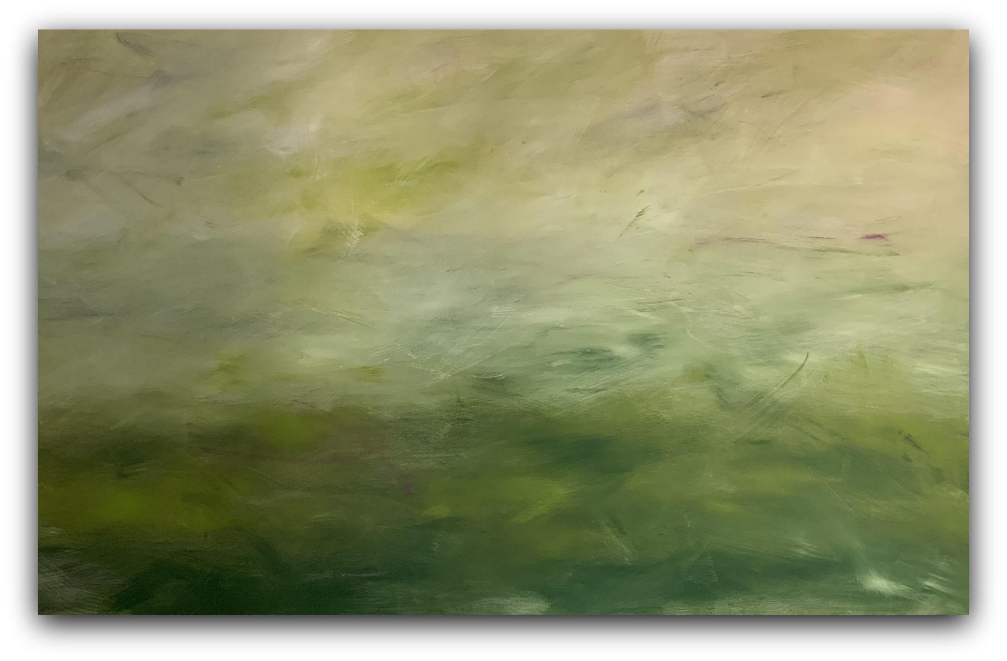 Ybbsufer 120 x 190cm / Acryl, Dispersion auf Leinen