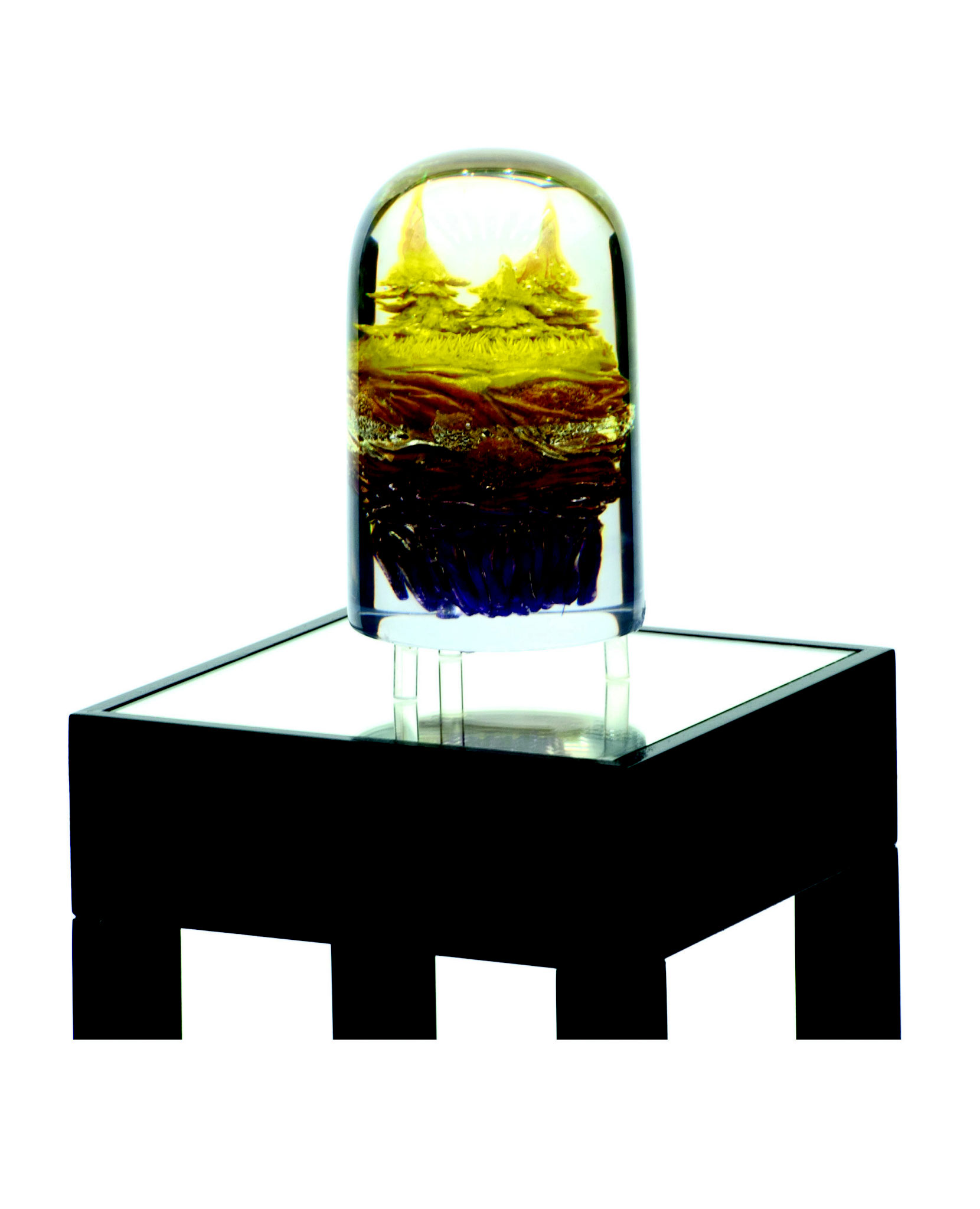 Landor (small version), polymer, polymeric resin, 2015