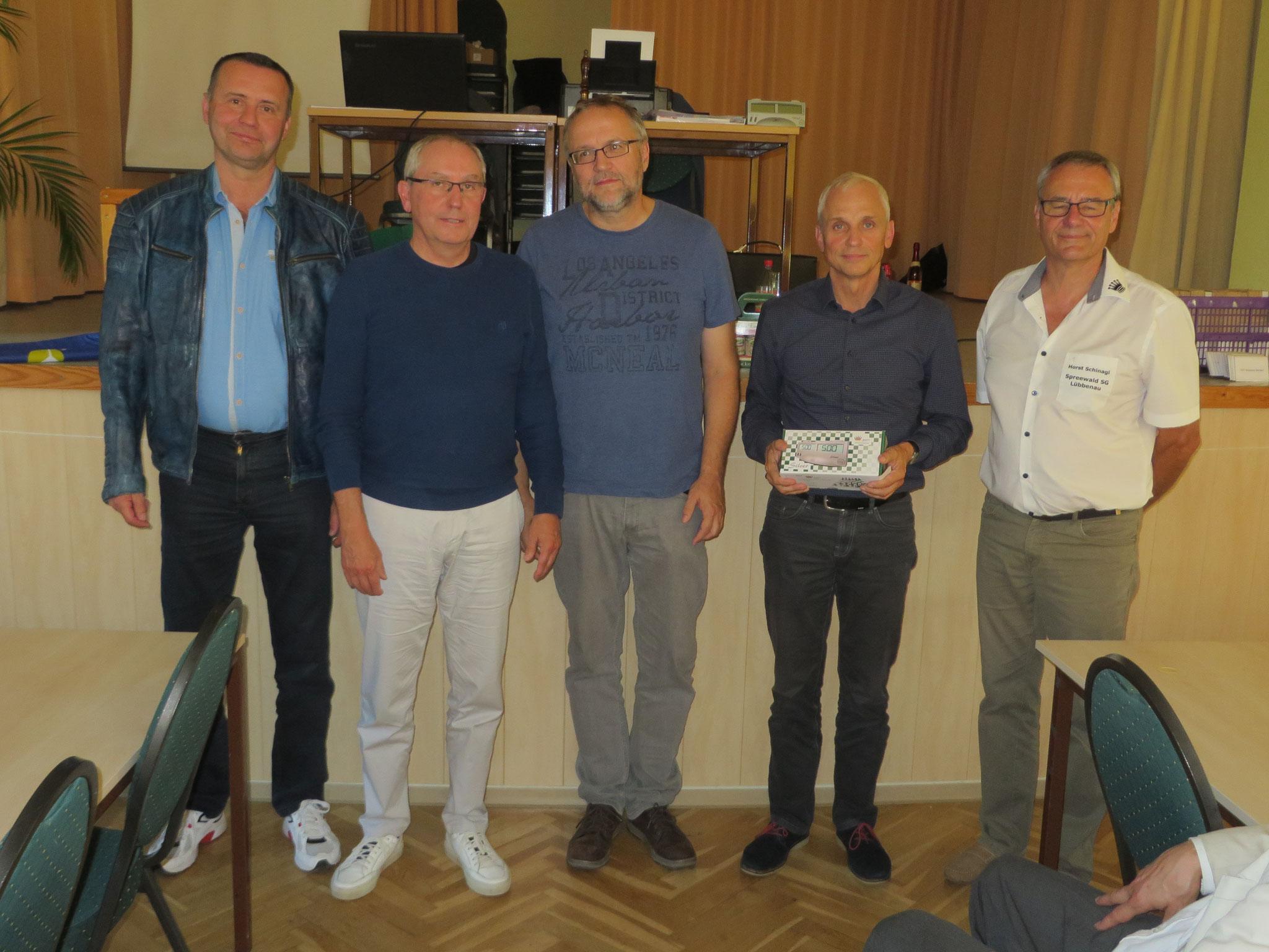 Platz 6 : SG Weißensee 49 (mit Horst Schinagl rechts)