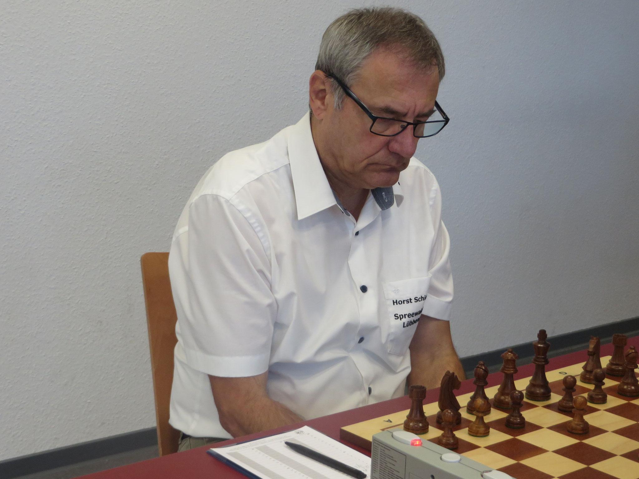 An Brett 4 für uns Horst Schinagl am Start