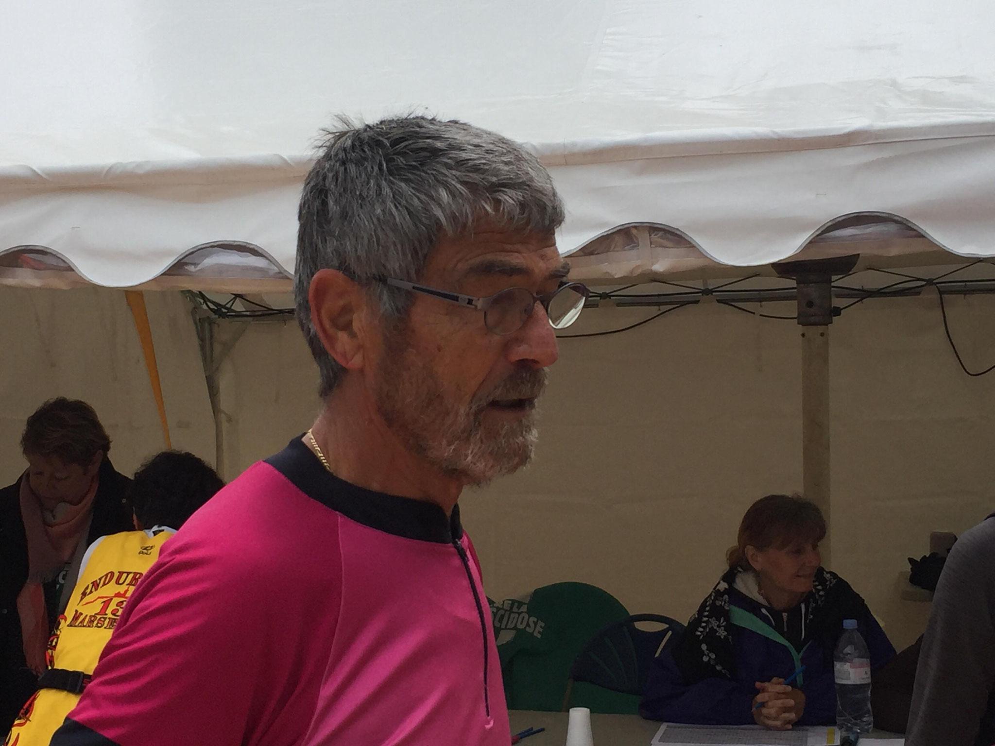 62-Roger (77ans!) a fait 63kms!