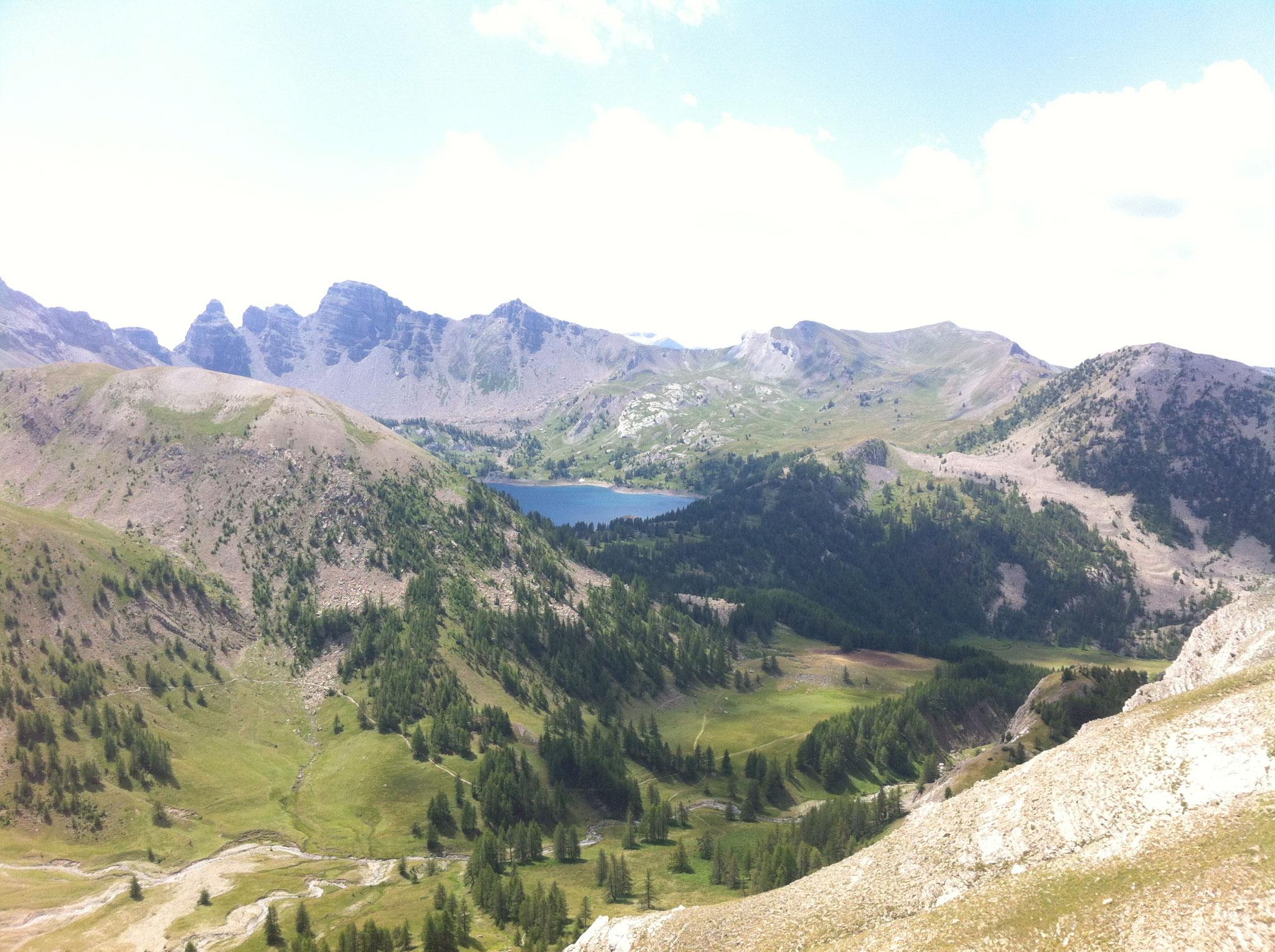 26-Et dimanche, trail de 22kms pour Stéphanie, dans ce sublime décor