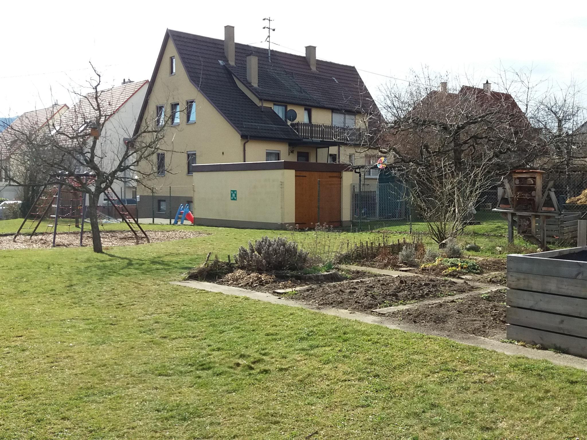 ...der Schulgarten
