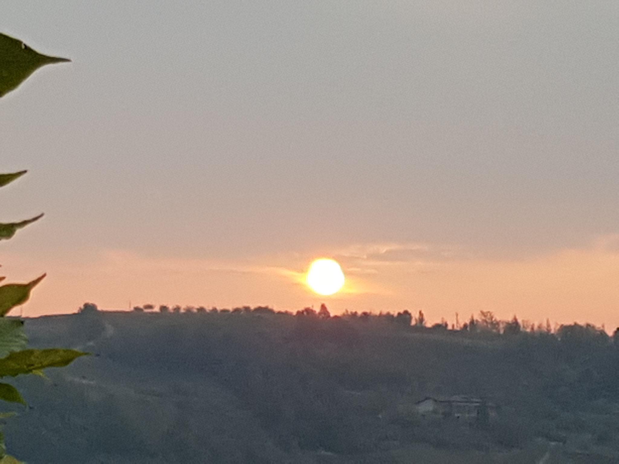 Wenn die Sonne aufgeht.