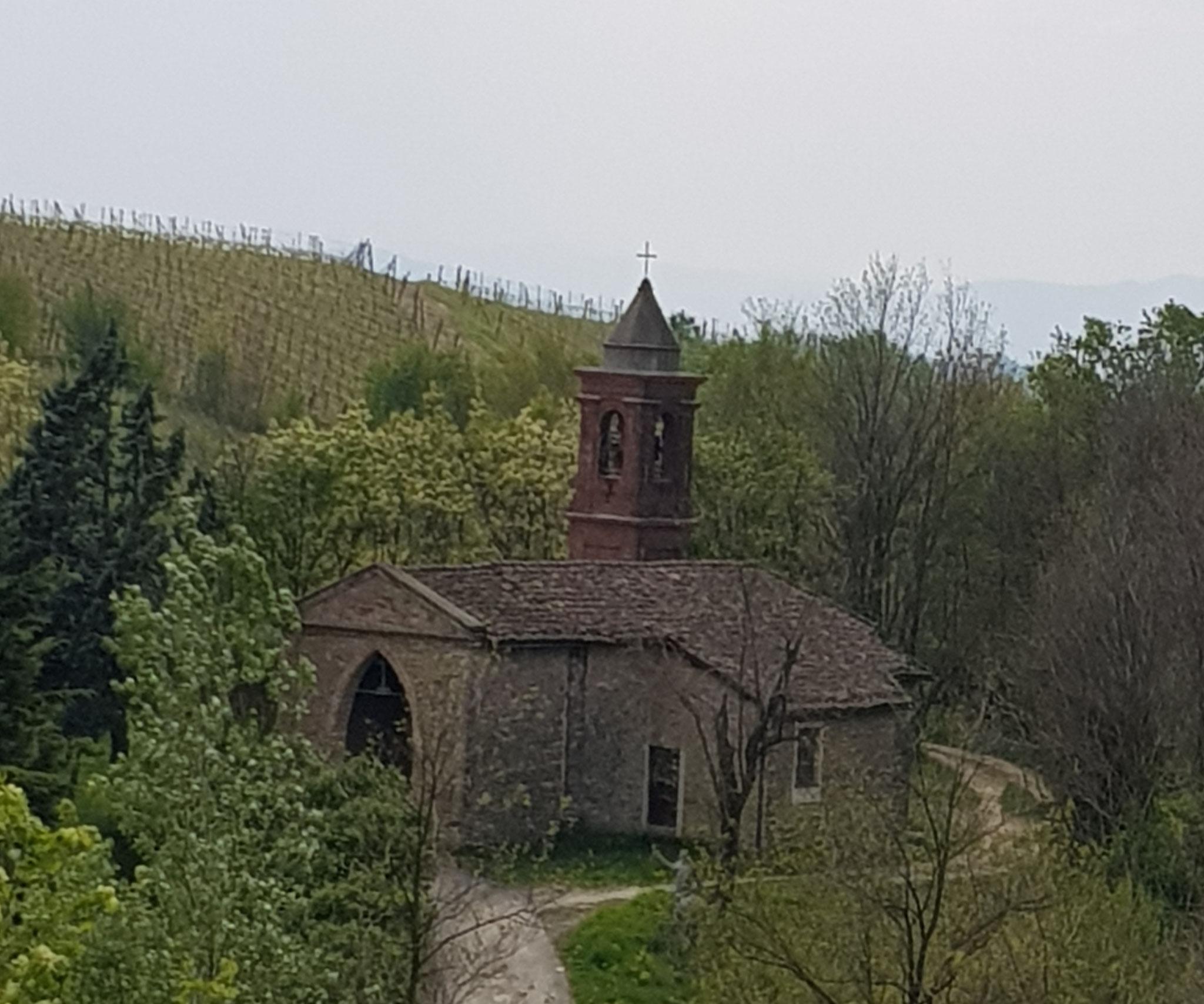 Das Kirchlein San Vittorio in Montabone