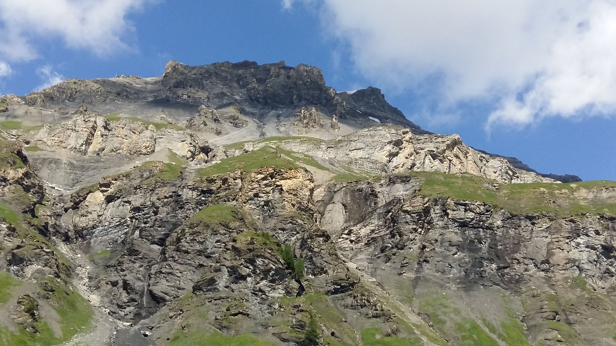 Auf diesen Berg geht es ganz sicher nicht, ich bin nicht schwindelfrei.