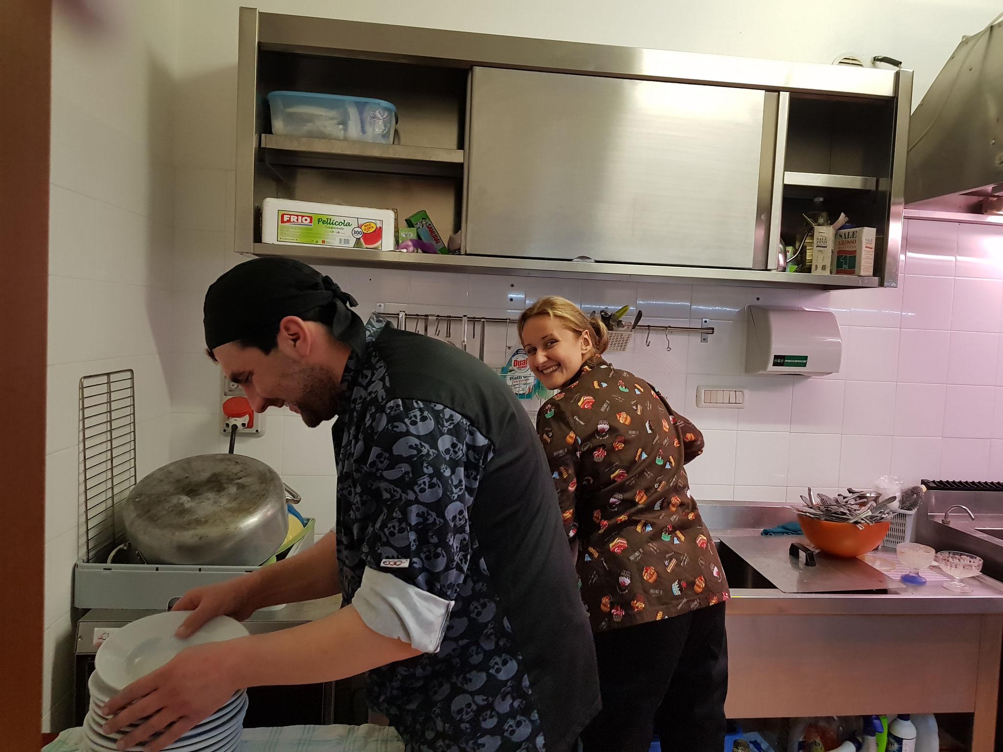 Ein Schmunzeln aus der Küche
