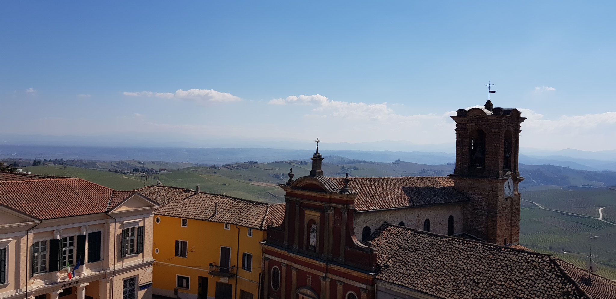 Alice Belle Colle, ein Dorf mit 360 Grad Aussicht