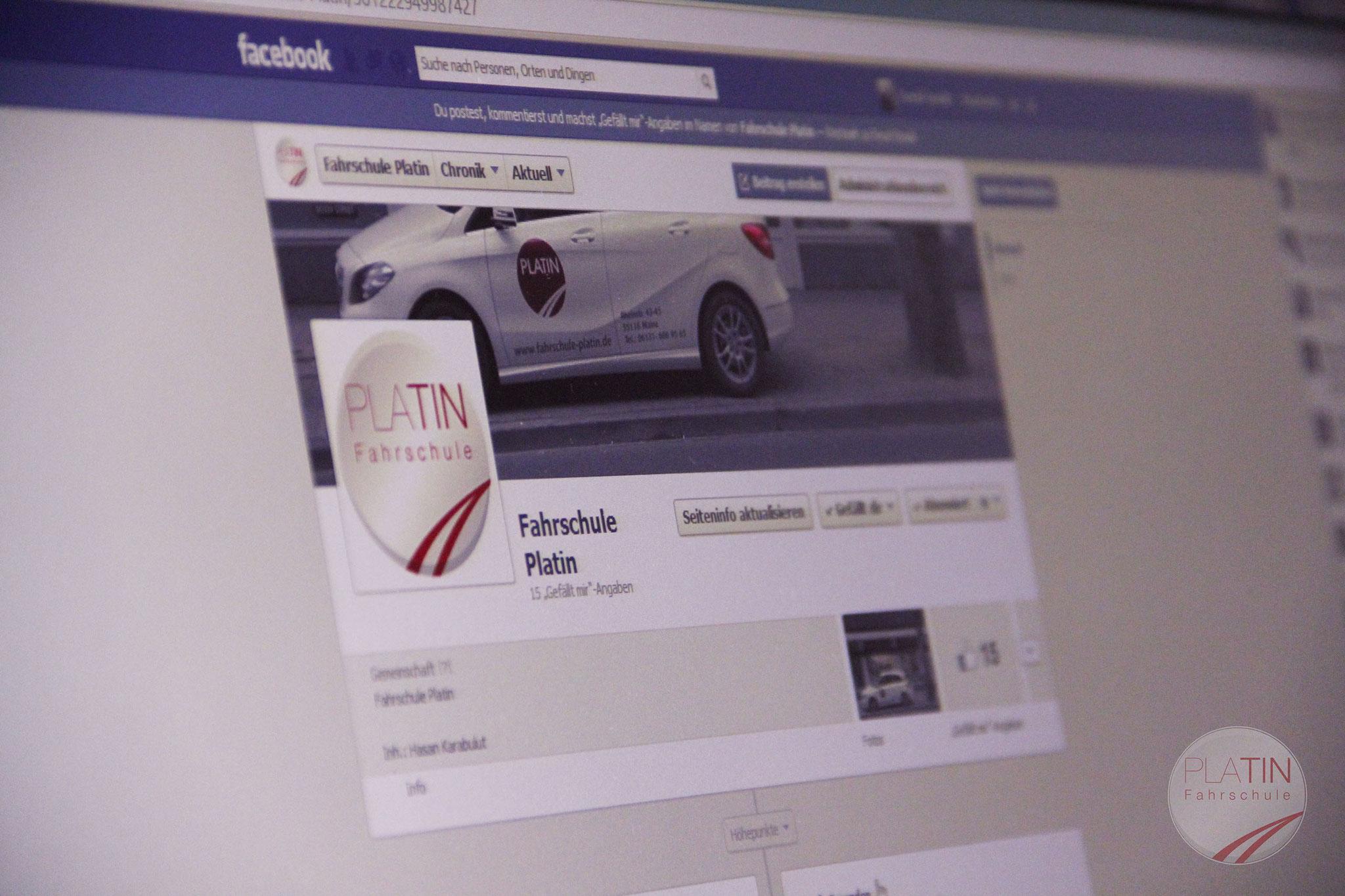 Ihr könnt uns auch gerne auf Facebook besuchen