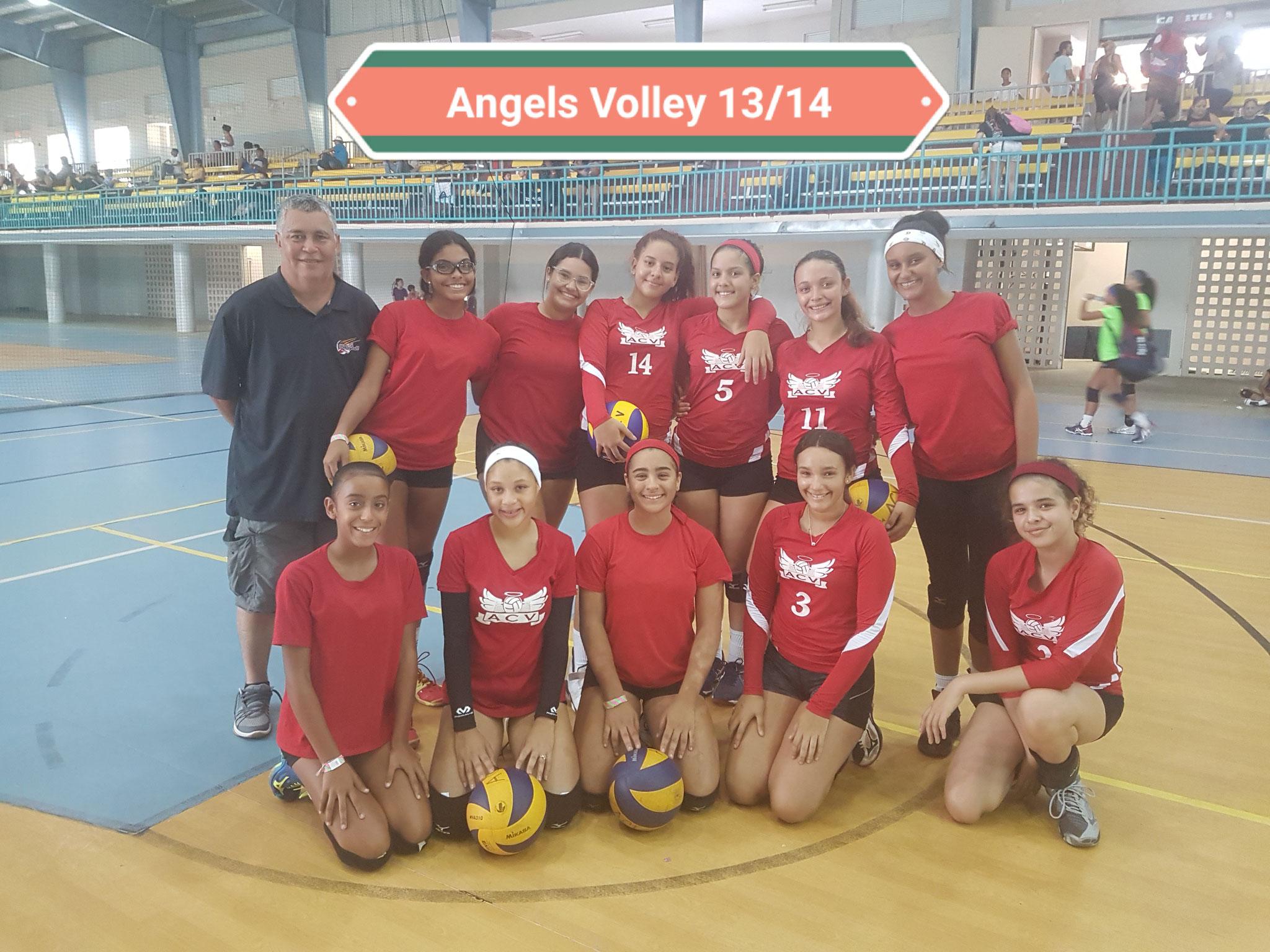 FREDDIE ANGELS VOLLEY CUARTO LUGAR EN 13 Y 1 4 AÑOS