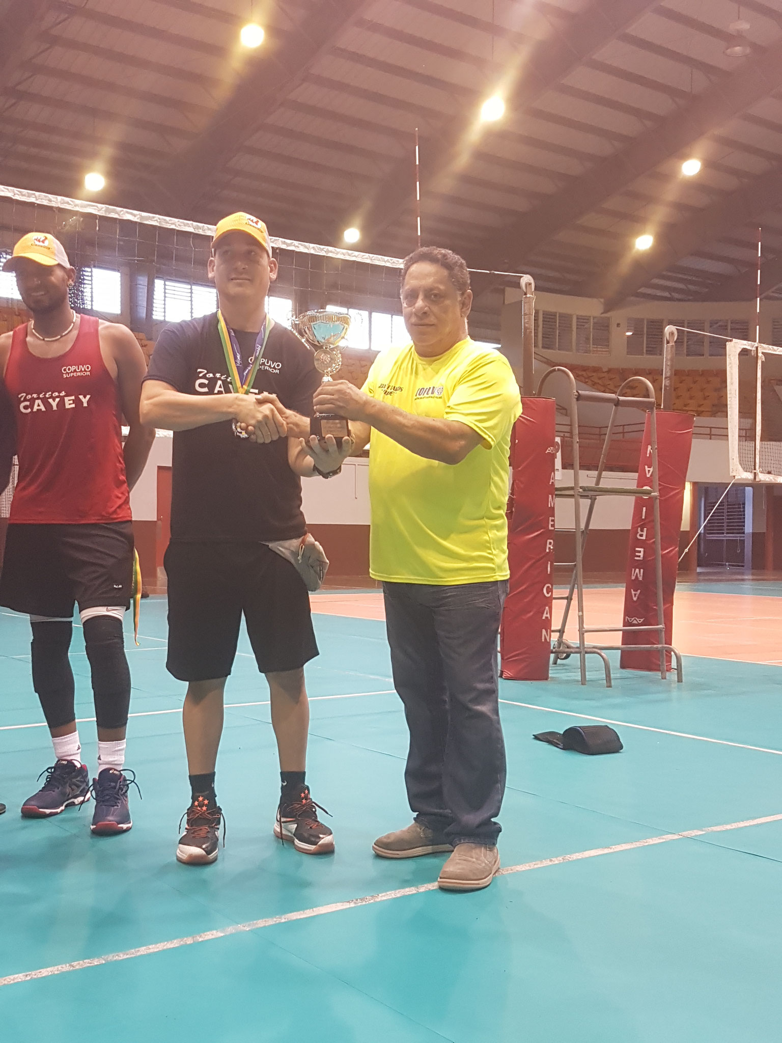 William Ramos apoderado y coach de Cayey subcampeones 2017