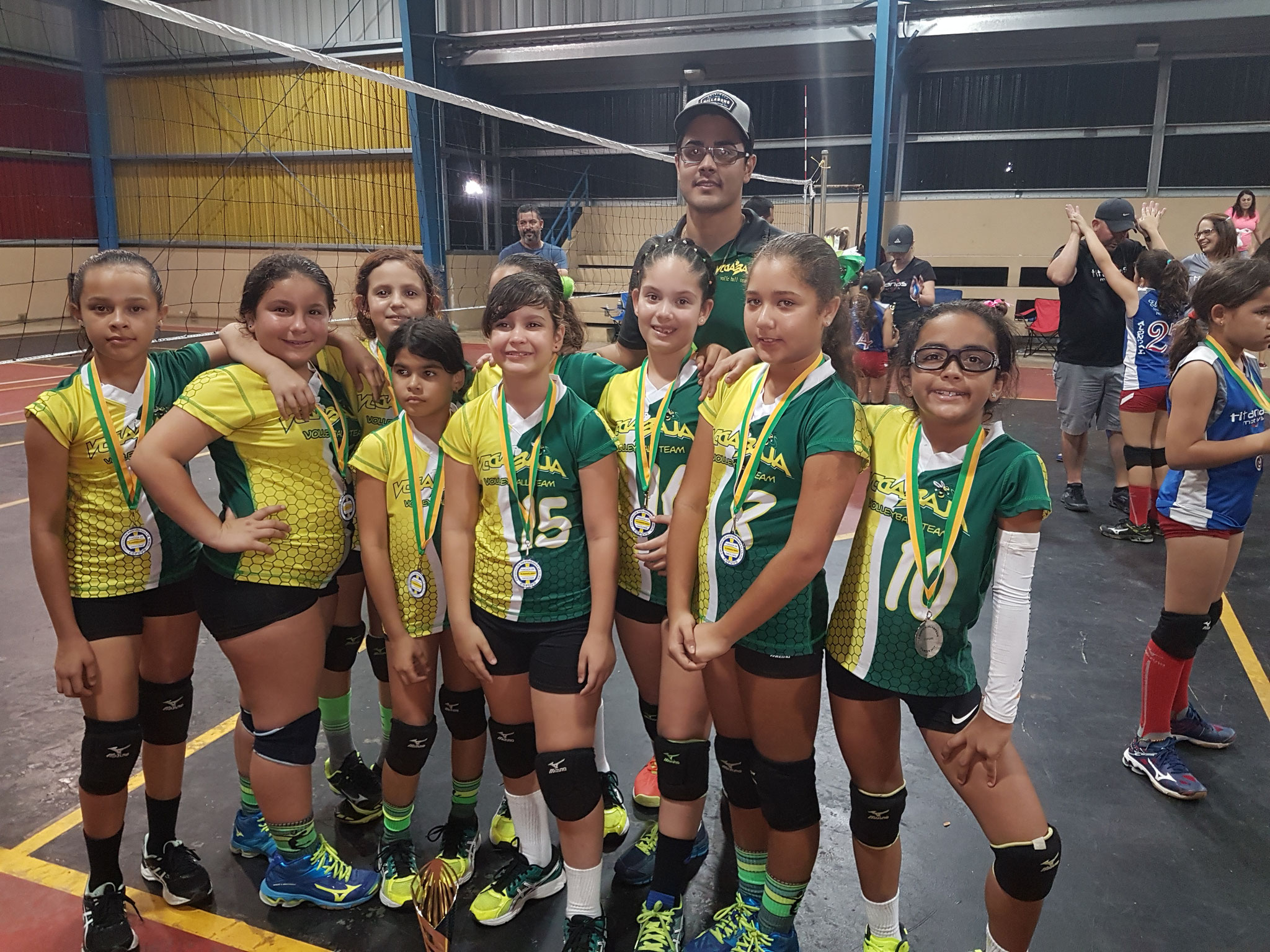 VEGA BAJA TEAM SUBCAMPEONAS 2017 EN 9 UNDER