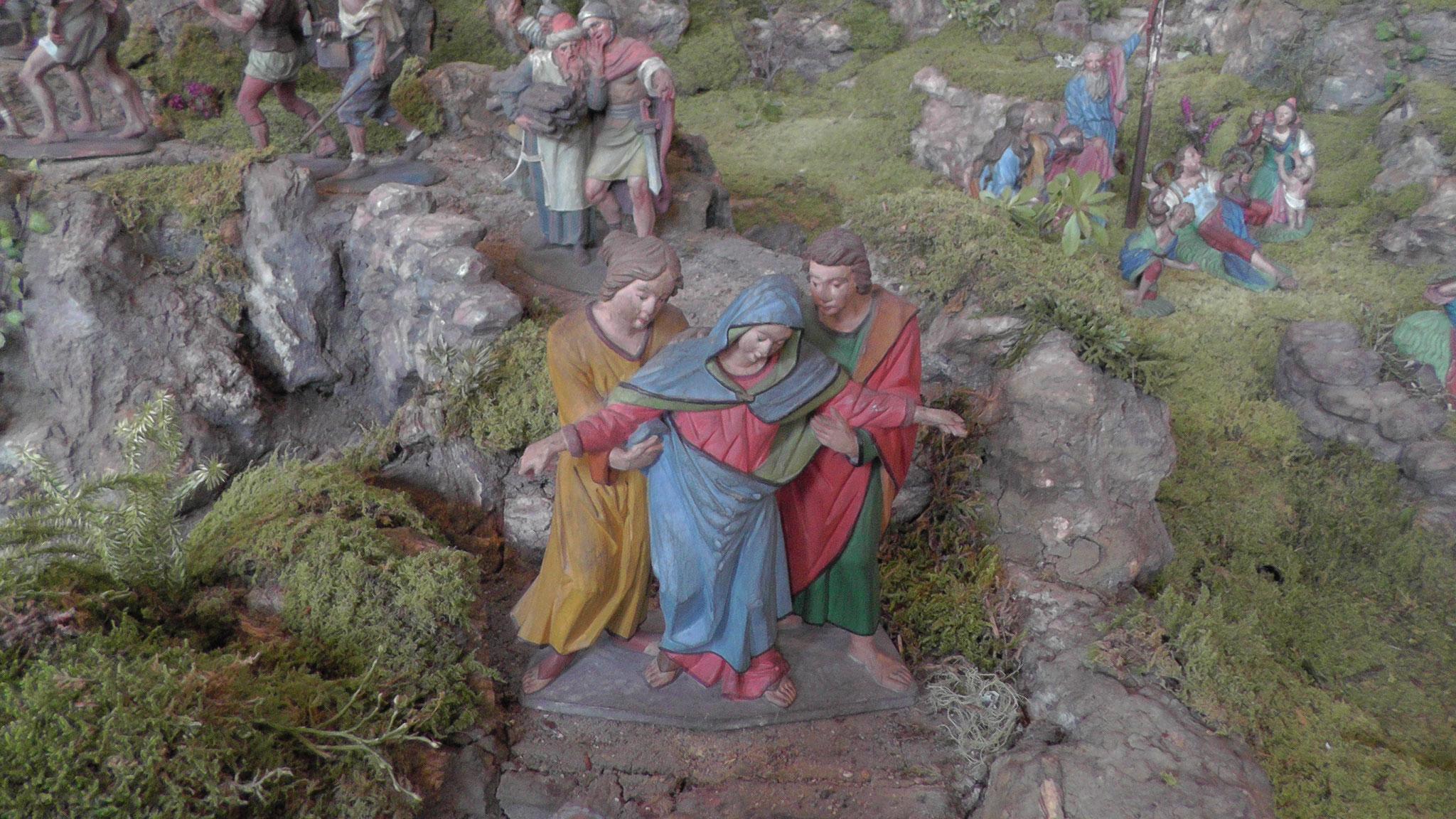 Fastenkrippe Pfarrkirche Zirl - Foto Klaus Gspan