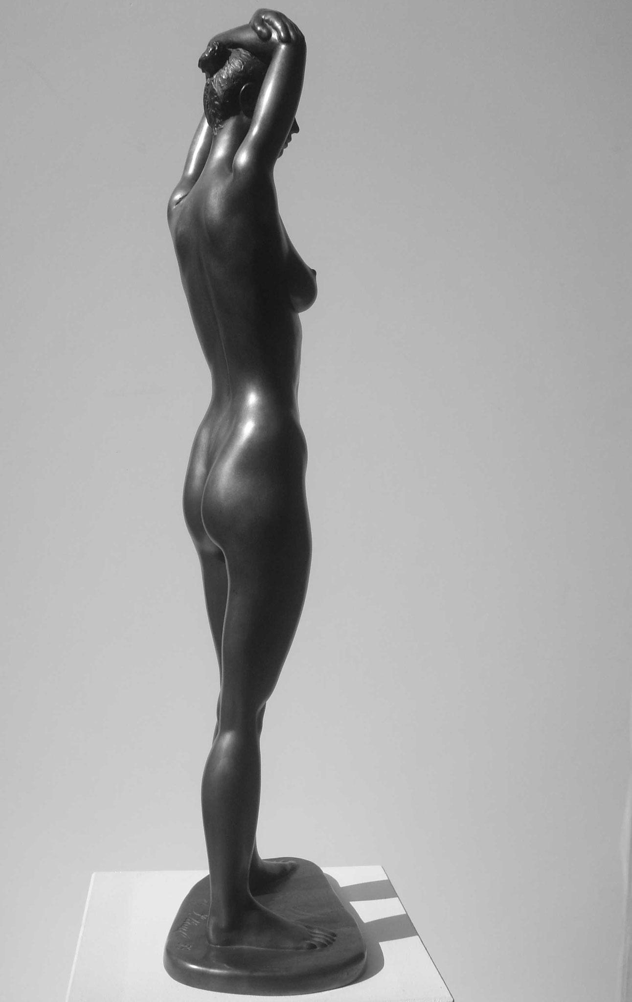 Eisläuferin, Bronze - bronce