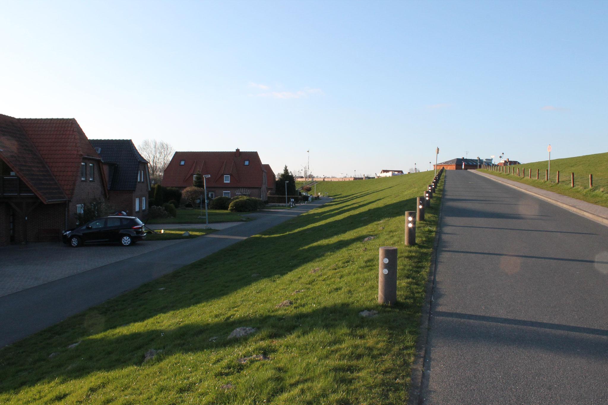 Straße zum Hafen