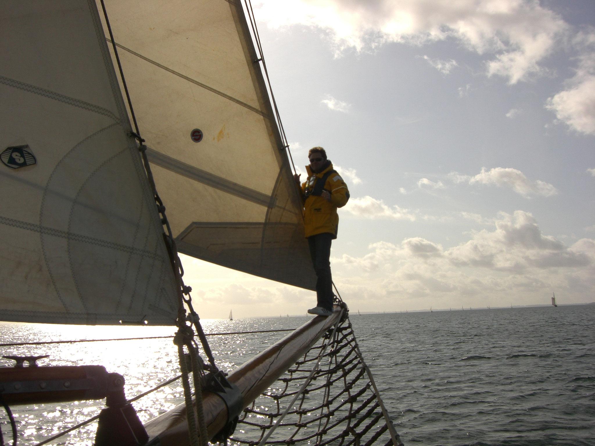 Segelschiff Ethel von Brixham