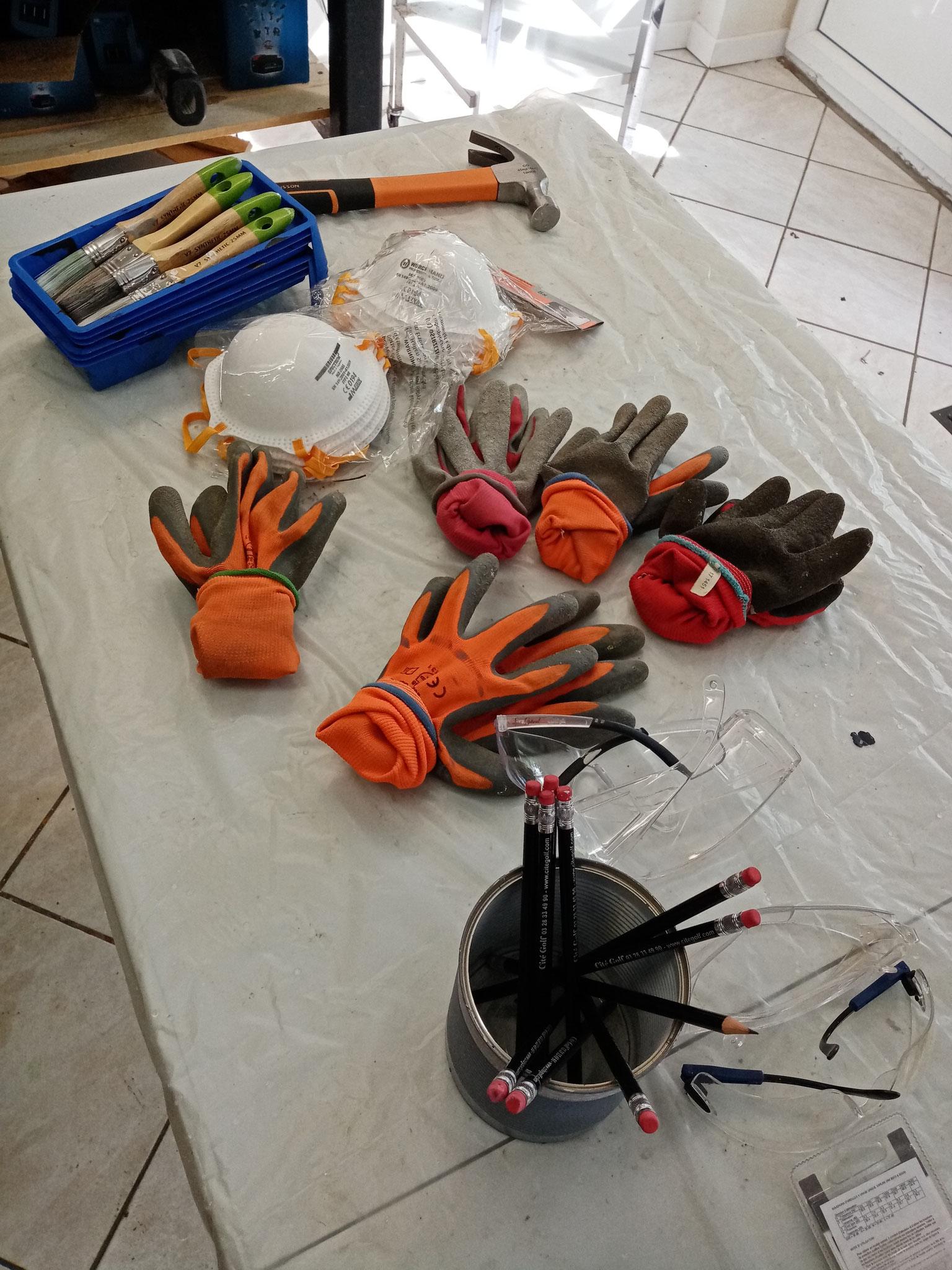 Atelier DIY pour les entreprises. La protection, notre priorité.