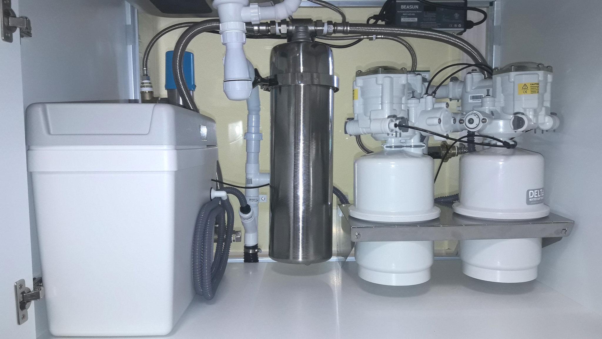 OLAC waterbehandelingssysteem met 25 kg zoutreservoir