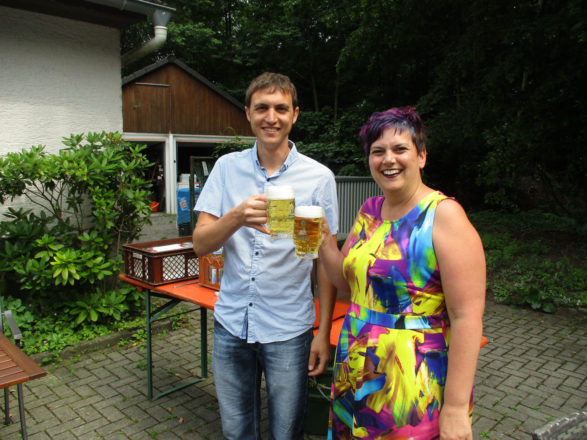 Philipp Dürrschnabel und Vera Reiter - Königspaar von 2018