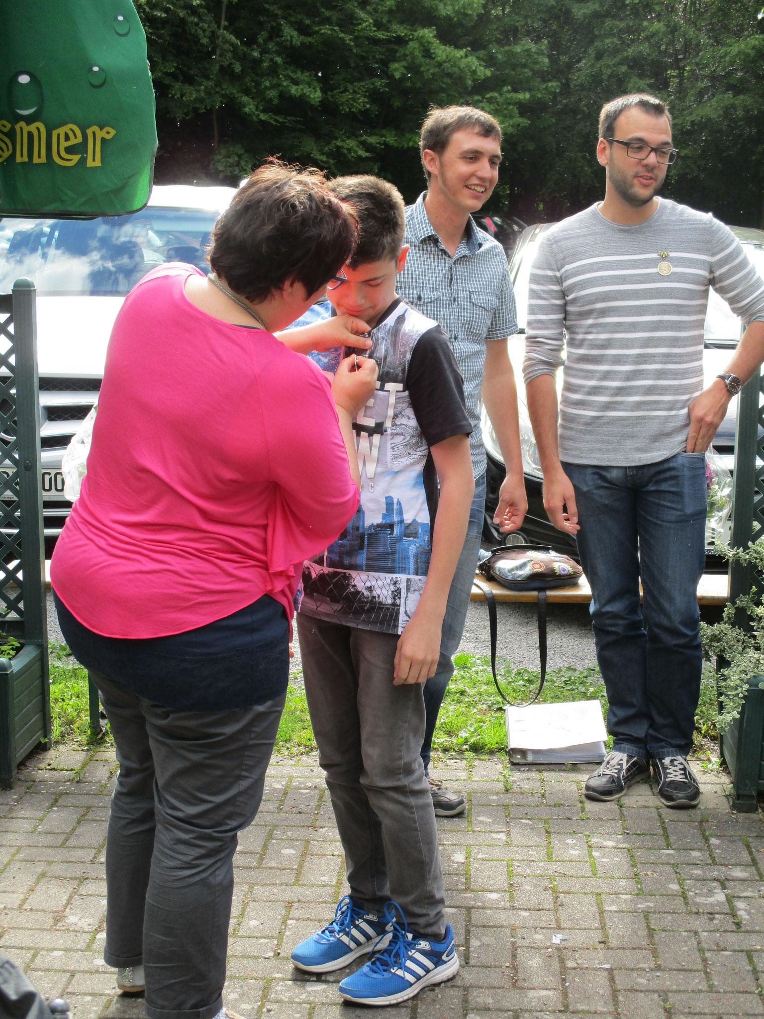 Königsfamilie 2017 - 1. Jugendritter - Nico Herr