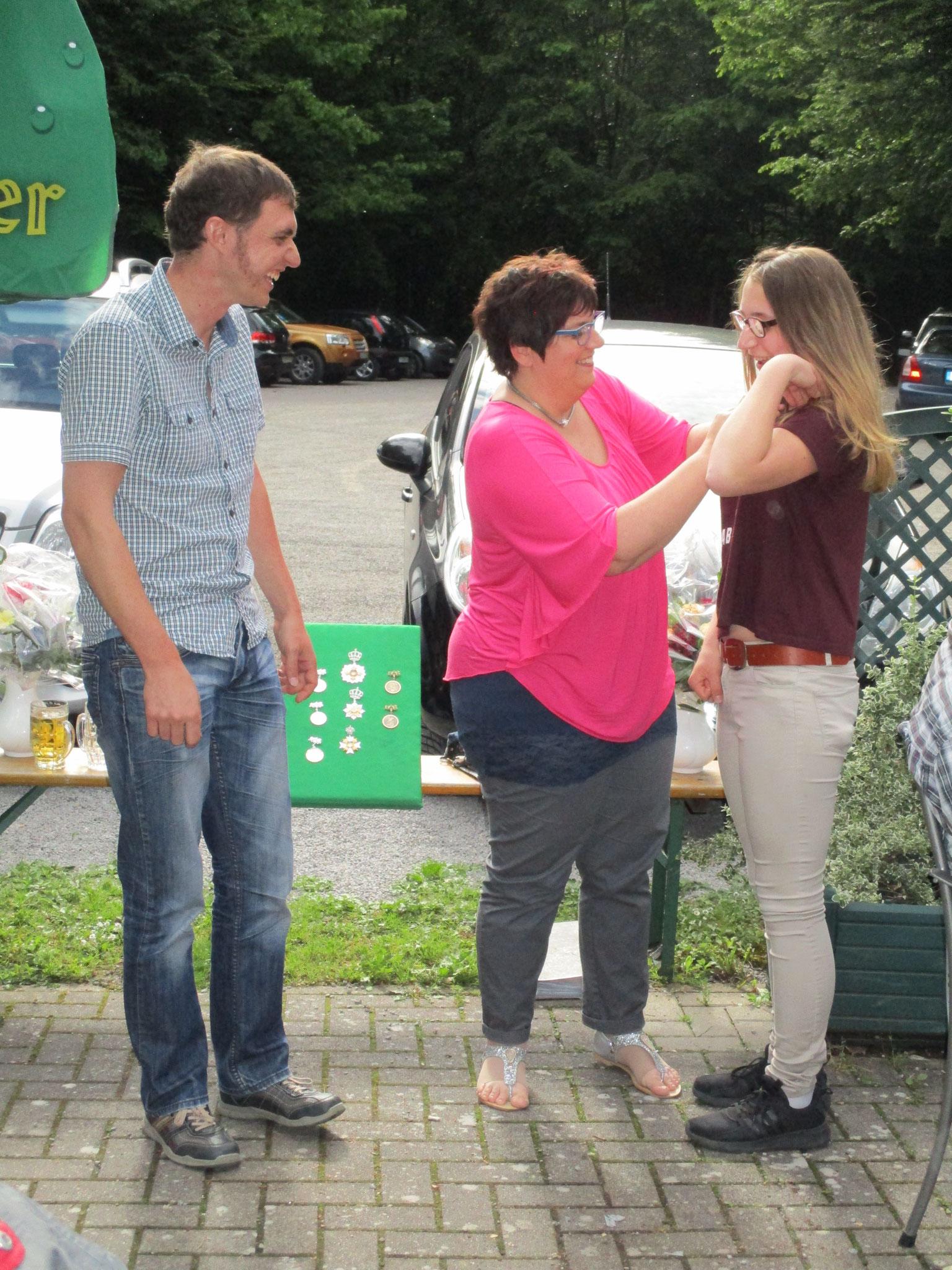 Königsfamilie 2017 - 2. Jugendritter - Celia Eggenreich