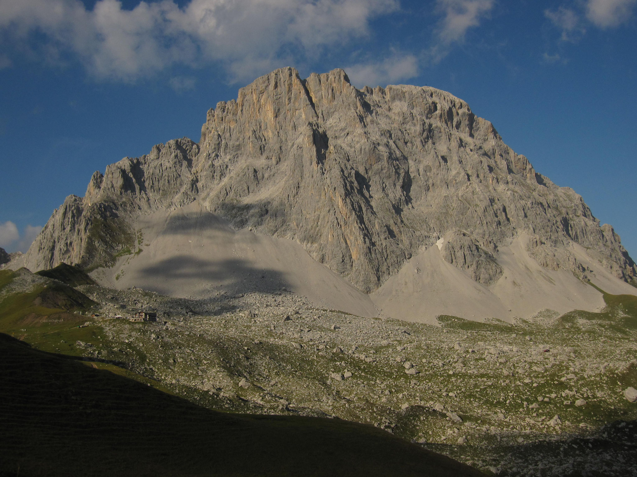 Madrisa - Carschinahütte GR 30.8.2013