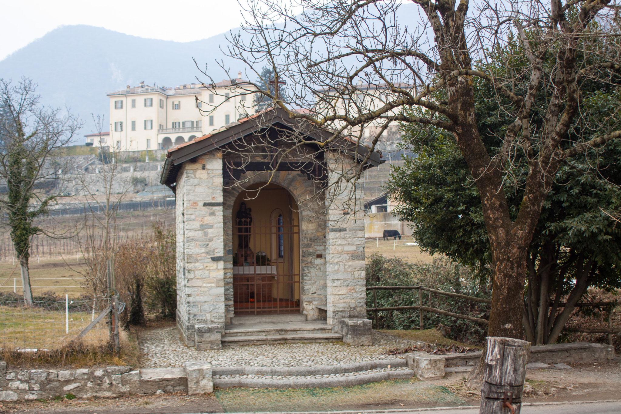 La Cappella della Madonna delle Nevi / zona Vigino