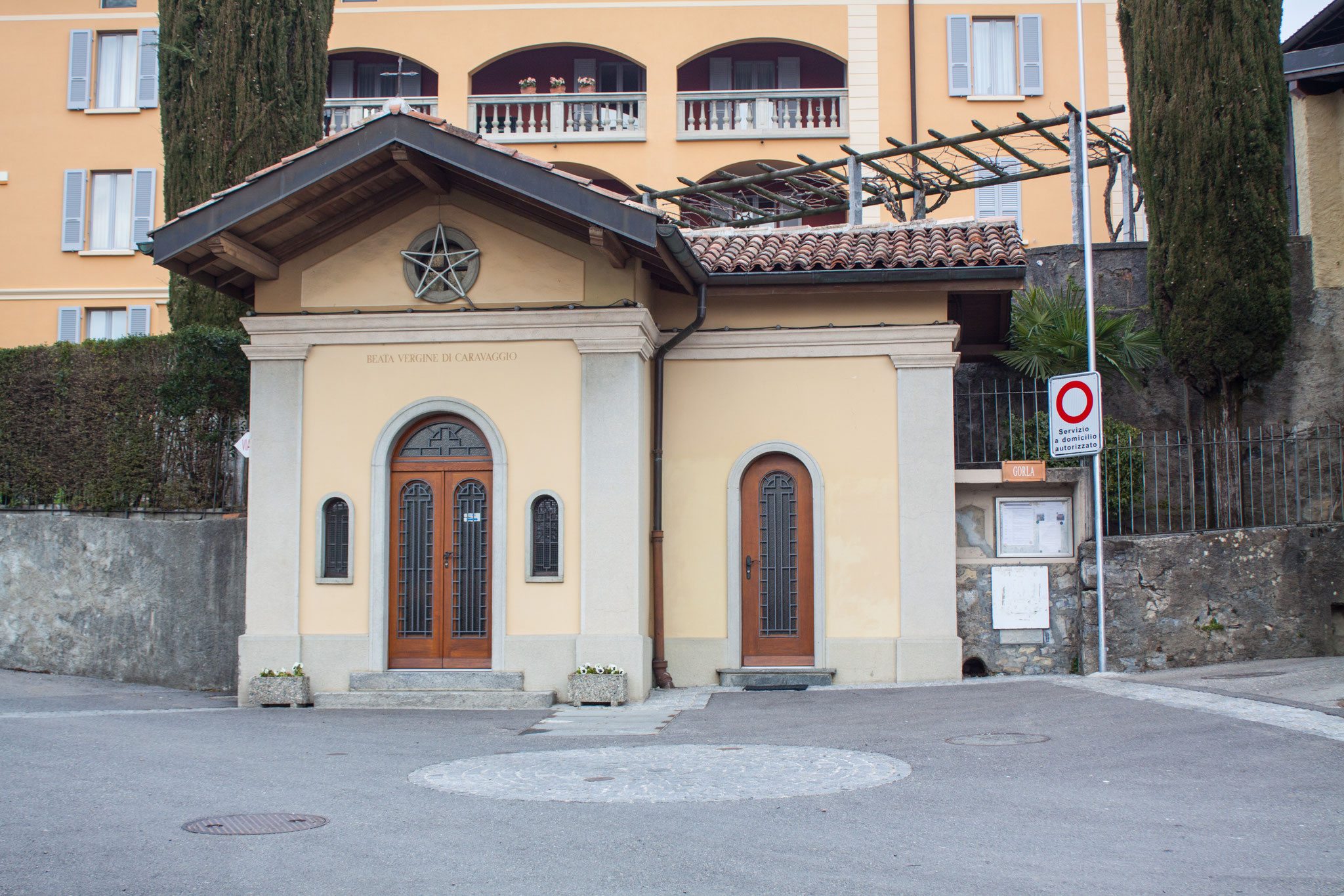 La Cappella della Madonna di Caravaggio / frazione di Gorla