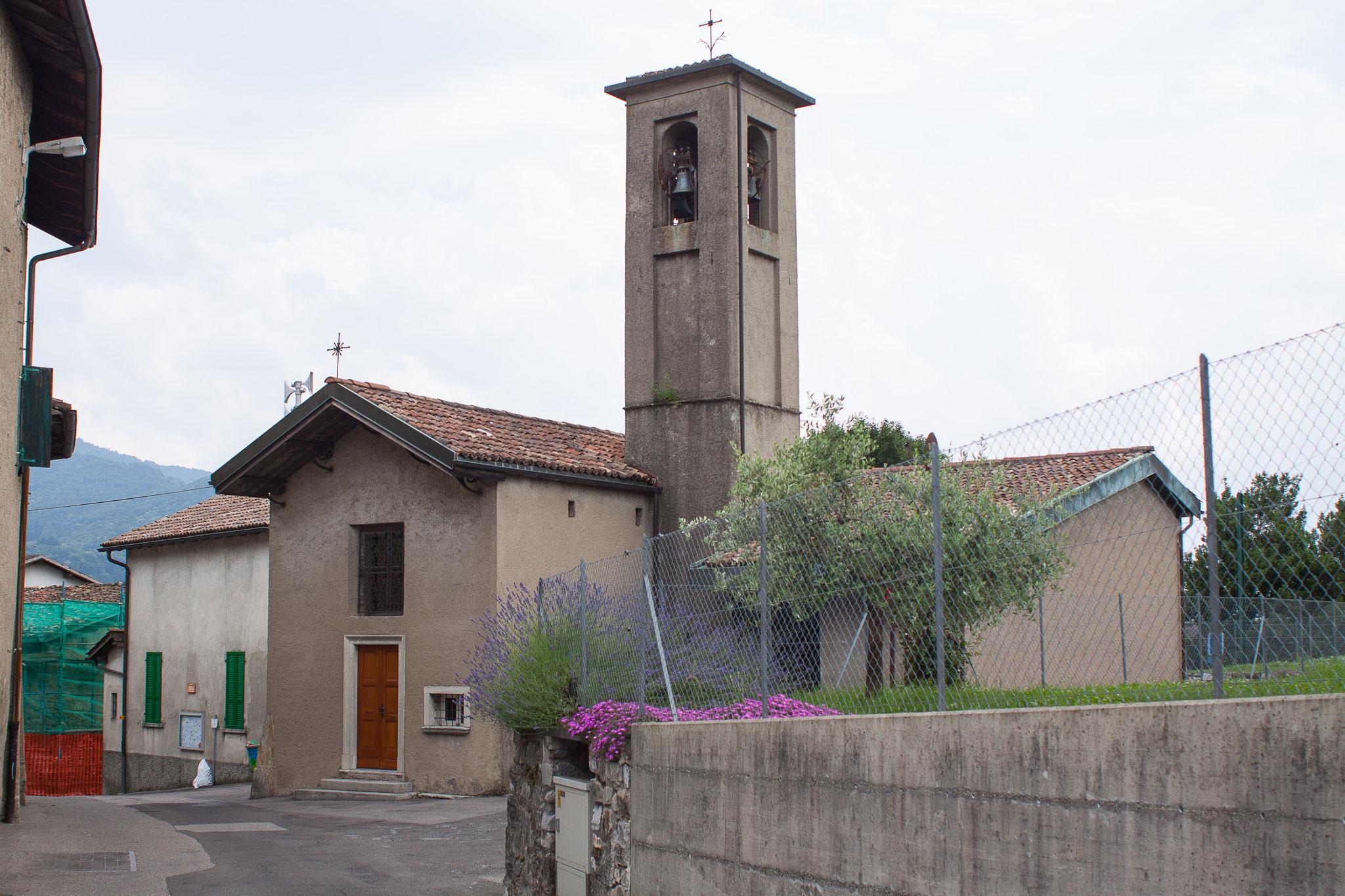 Chiesa di San Nicola da Tolentino / frazione di Corteglia