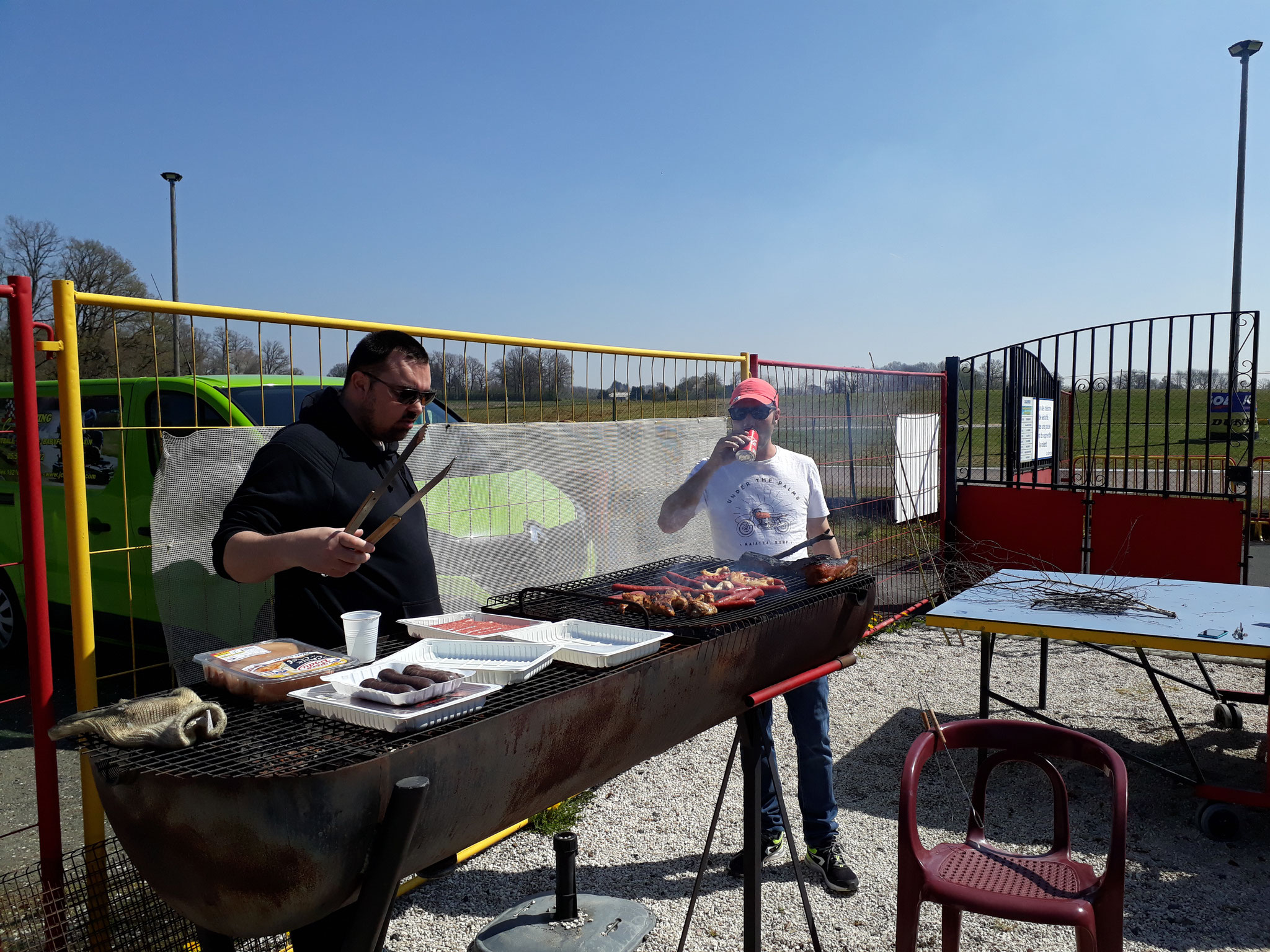 Barbecue à Lubersac le 13 Avril 2019