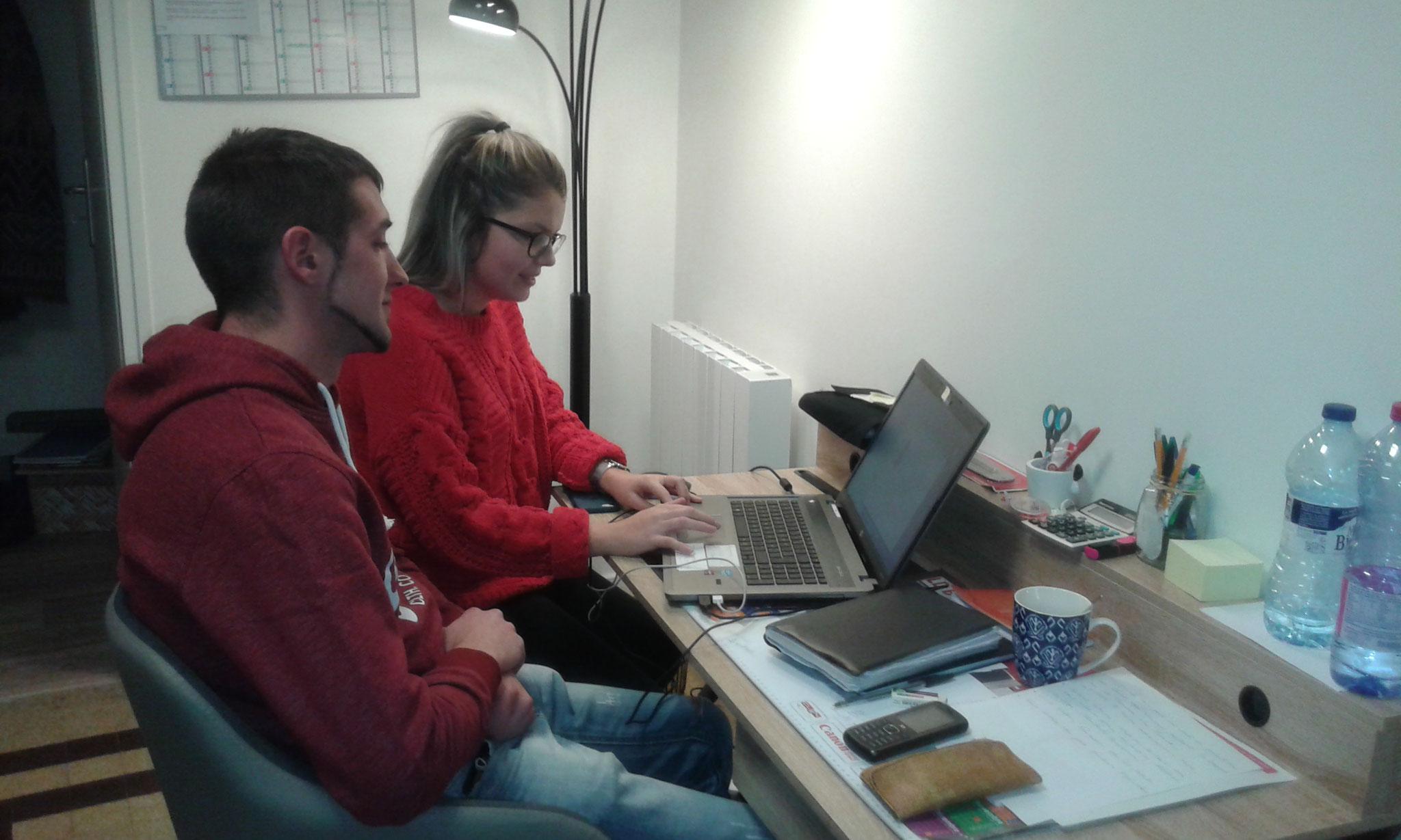 Nous avons accueilli deux stagiaires du SAVS de Tulle. Merci à Tatiana et Sophie pour leur participation