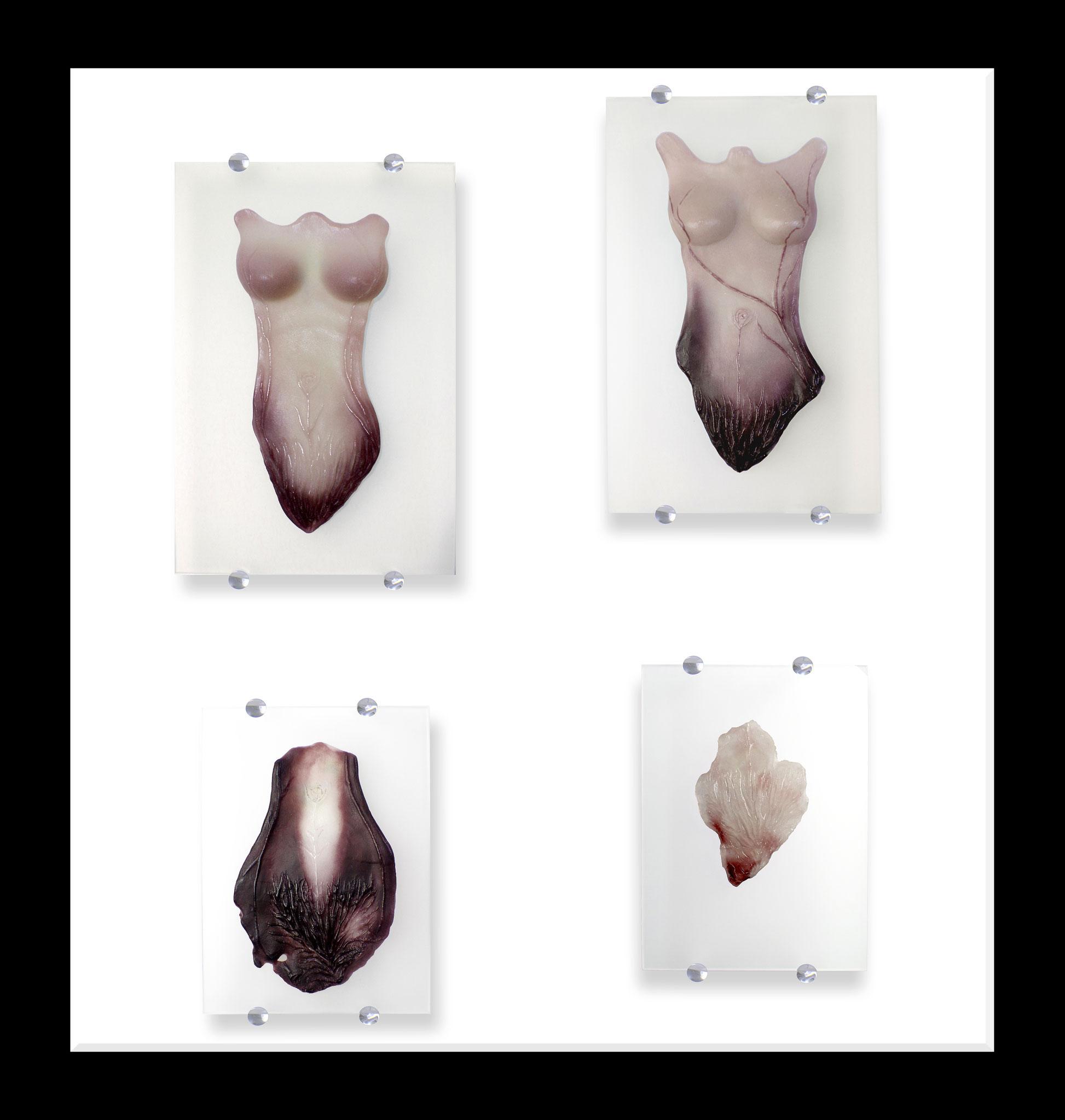 Woman quadruple