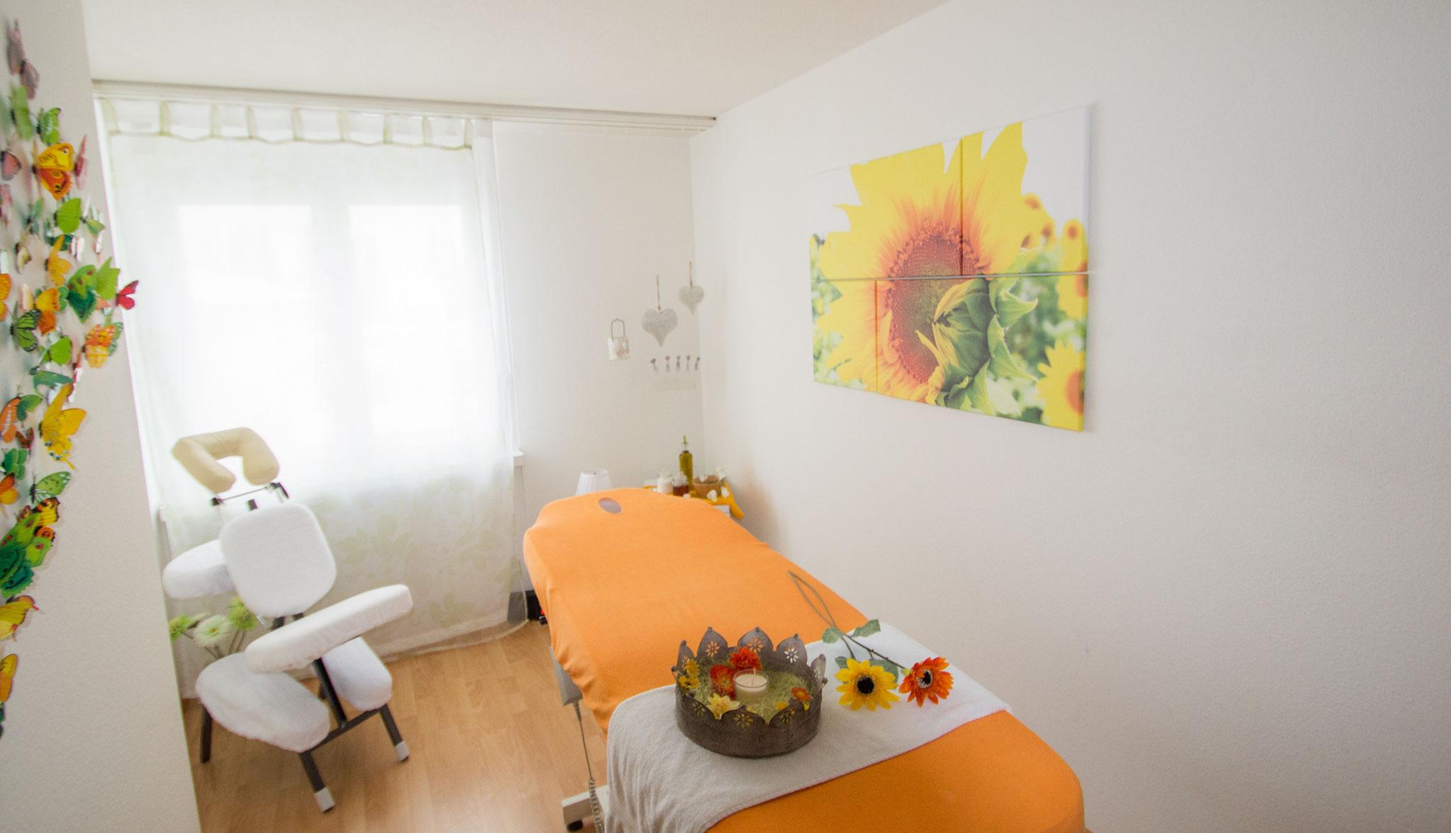 Massagezimmer, Januar 2017