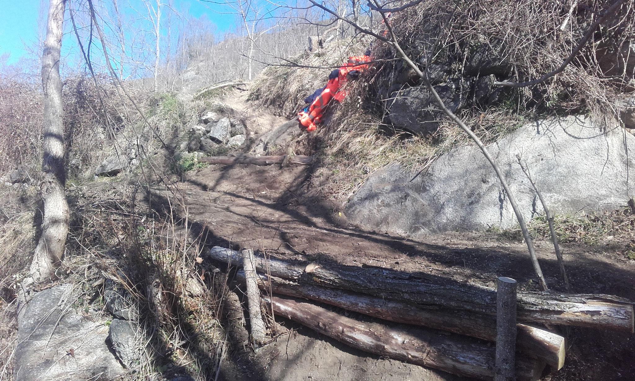 Entretien des sentiers de randonnée