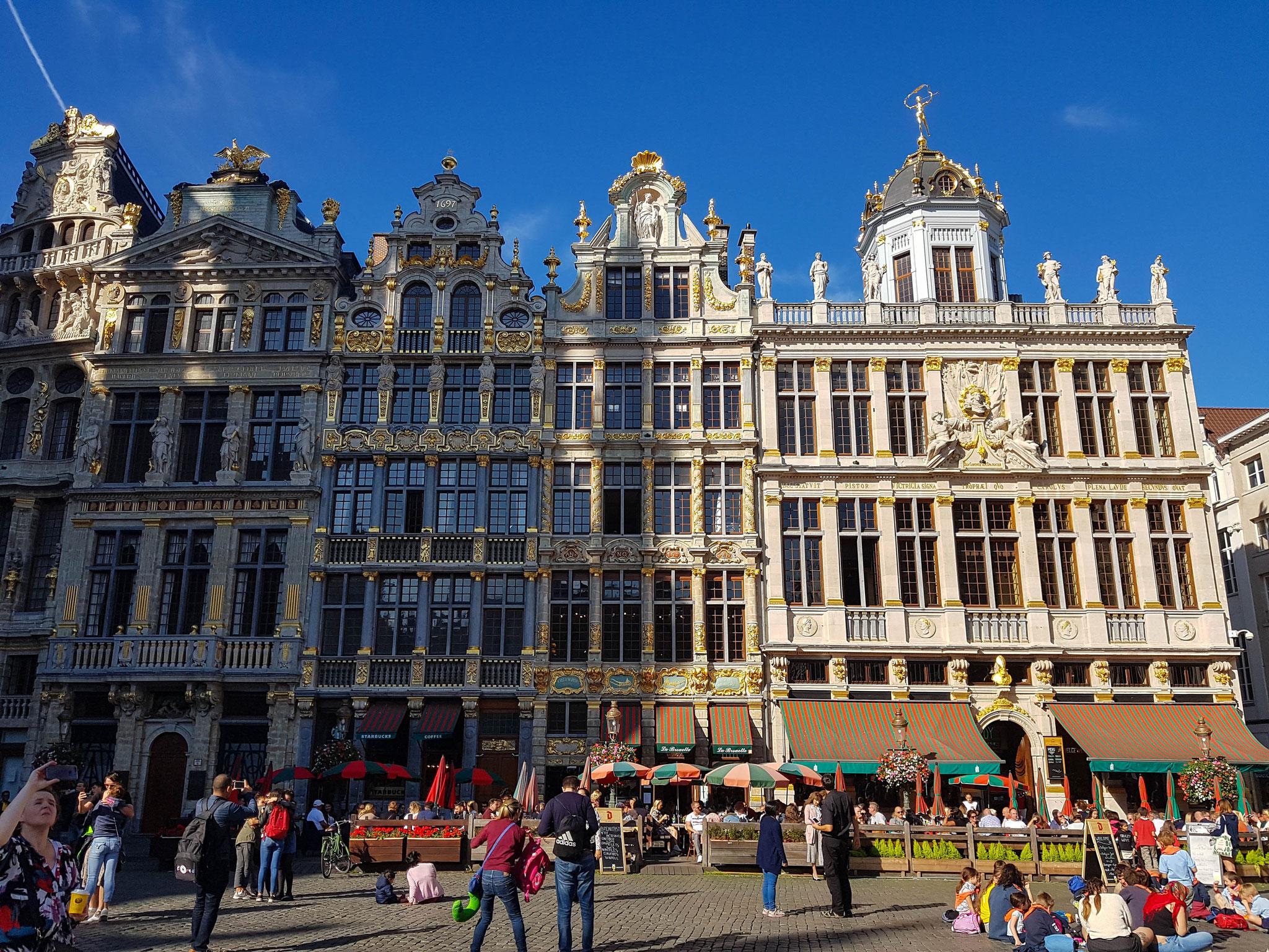 Stadtbesichtigung in Brüssel