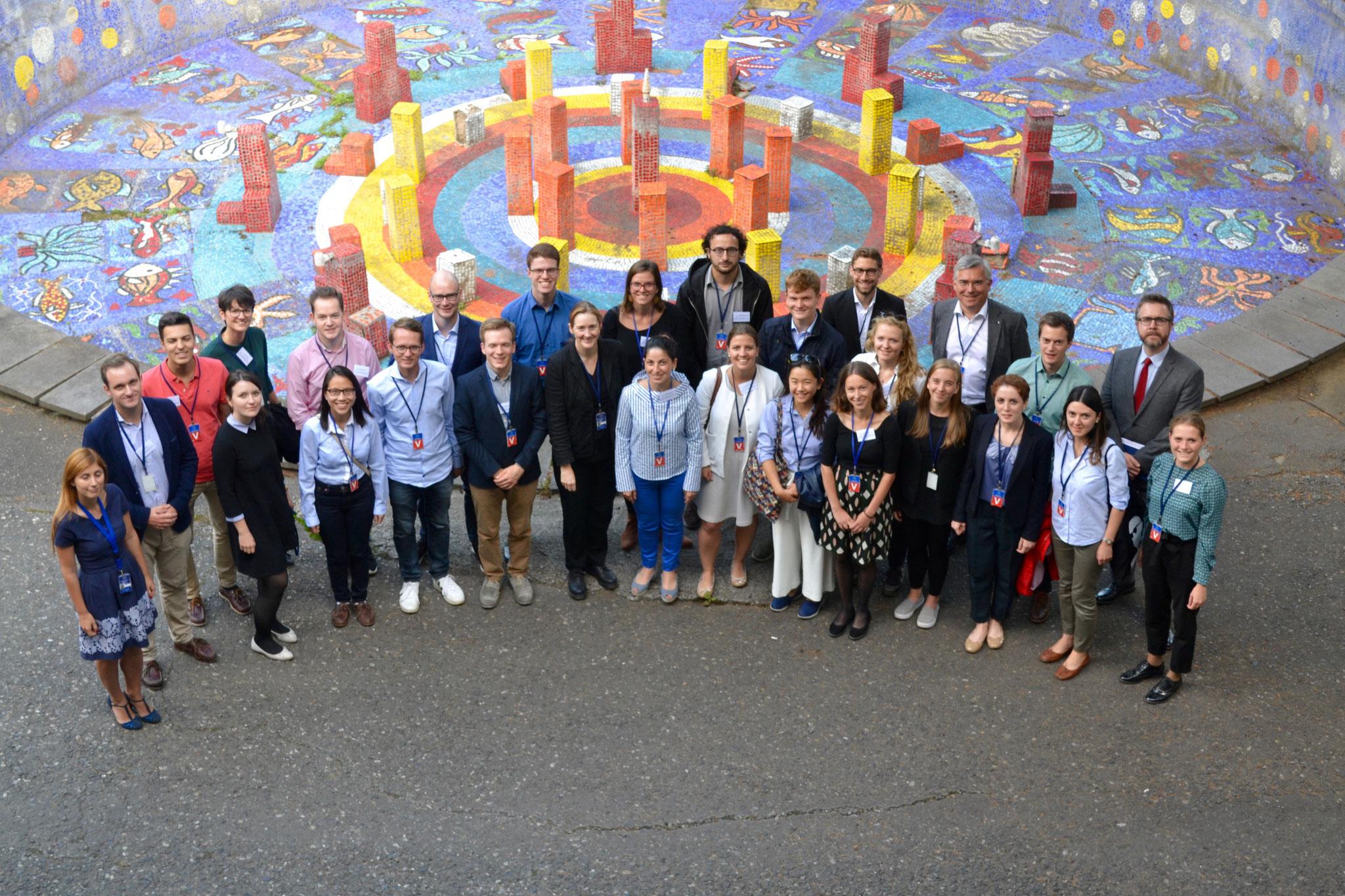 """Die Stipendiaten zu Besuch bei der """"Monitoring Mission"""" der Europäischen Union"""
