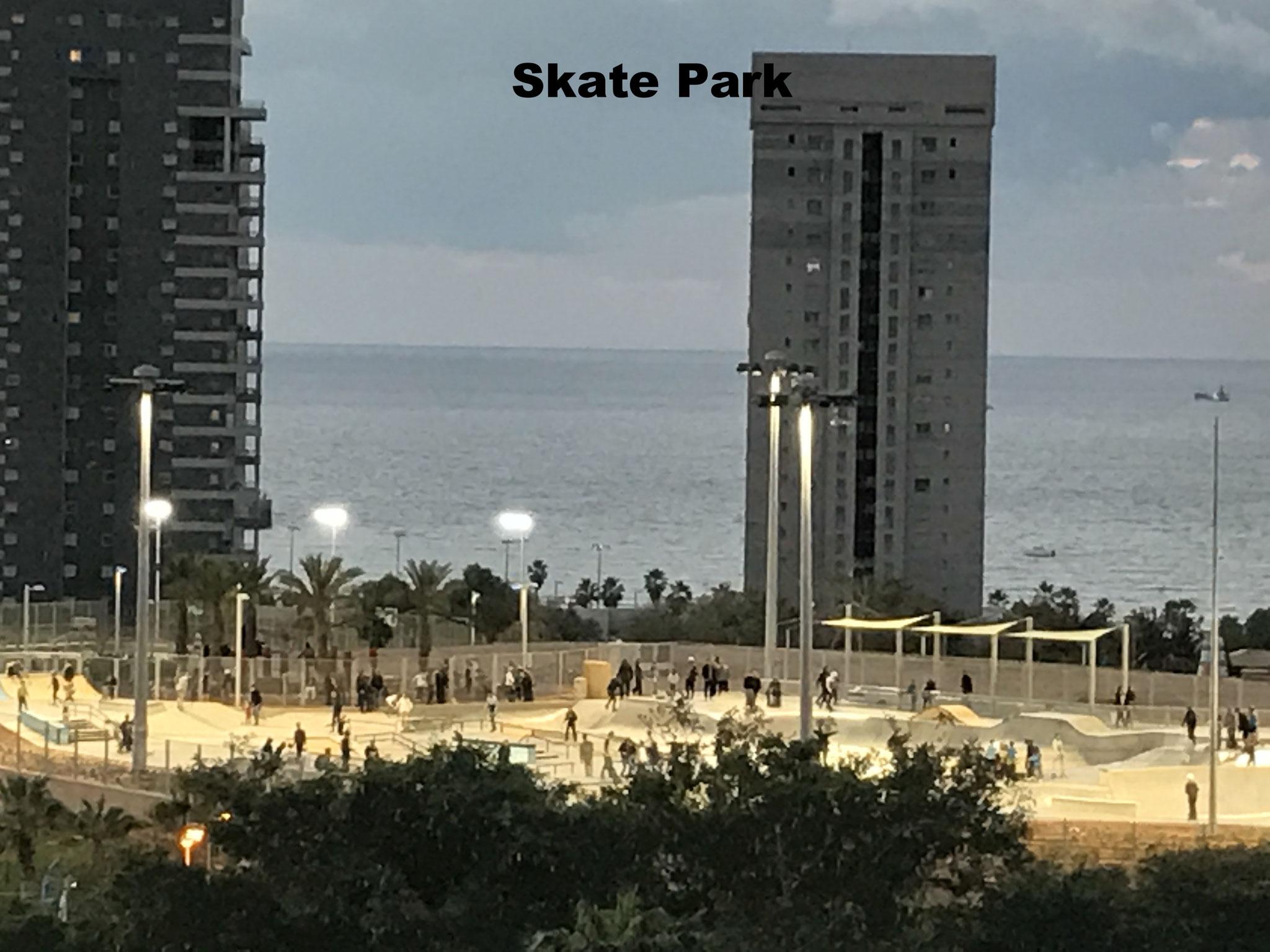 Le skate Park au parc Yam