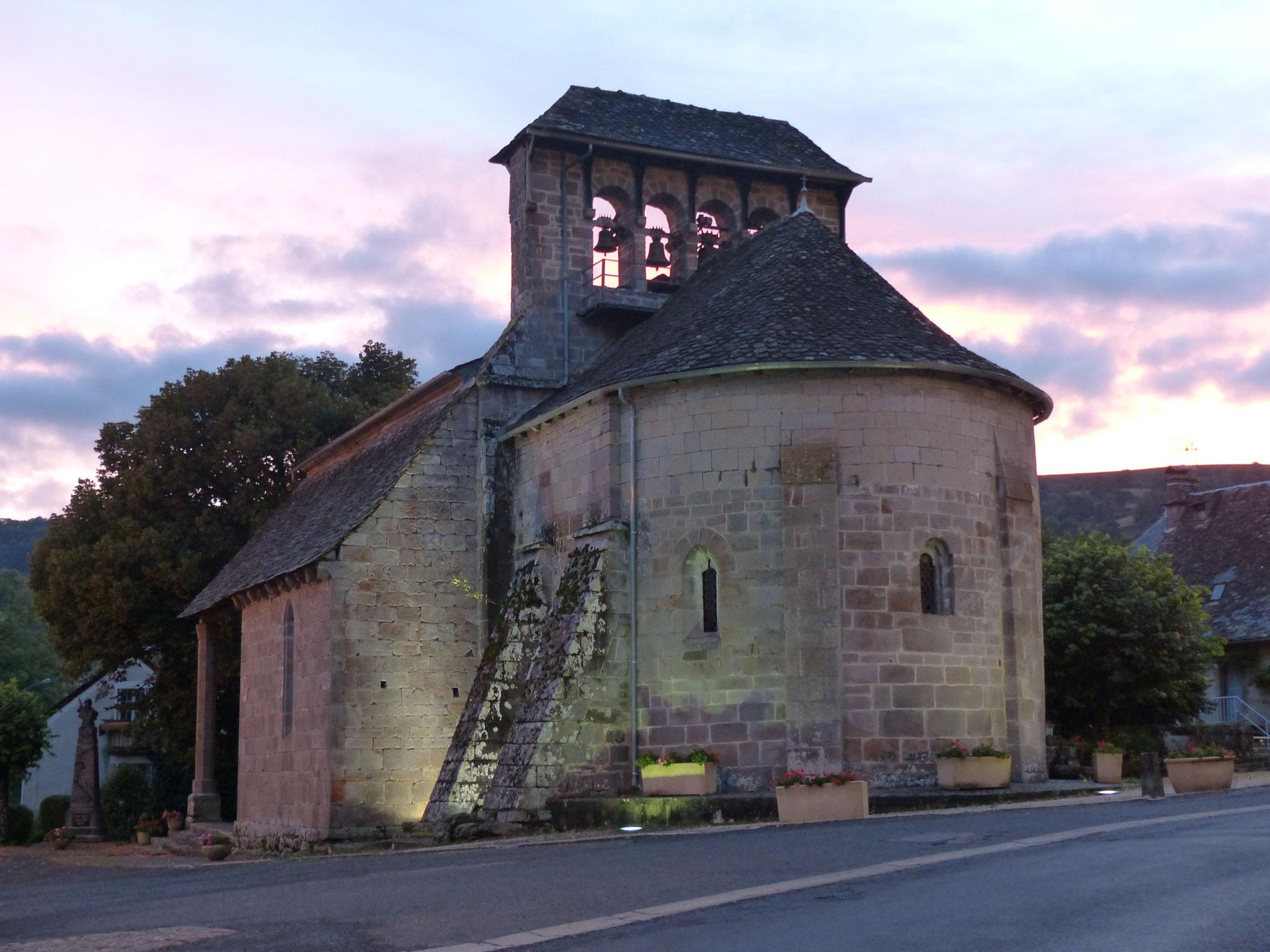 Eglise romane de Jou-sous-Monjou