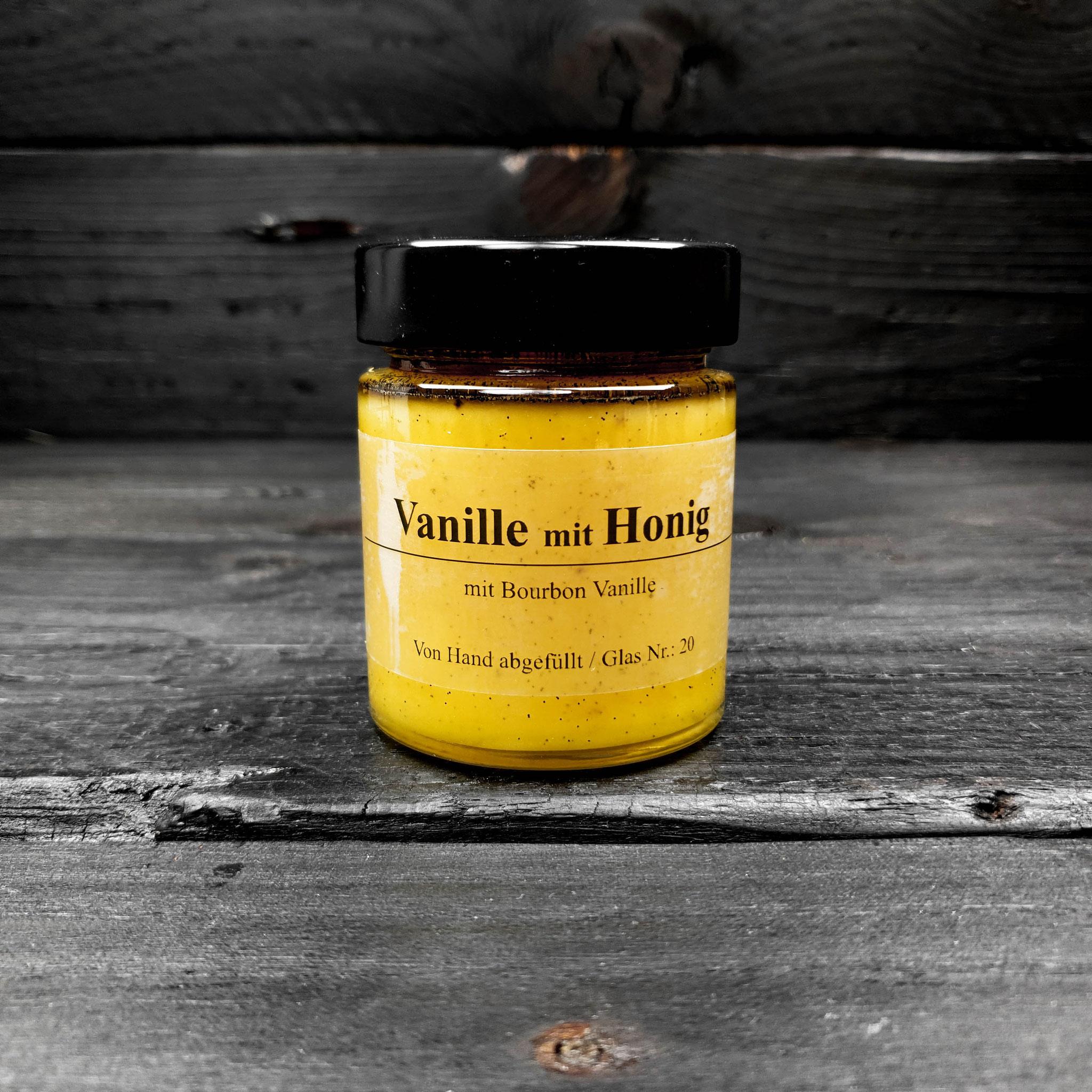 Vanille mit Honig