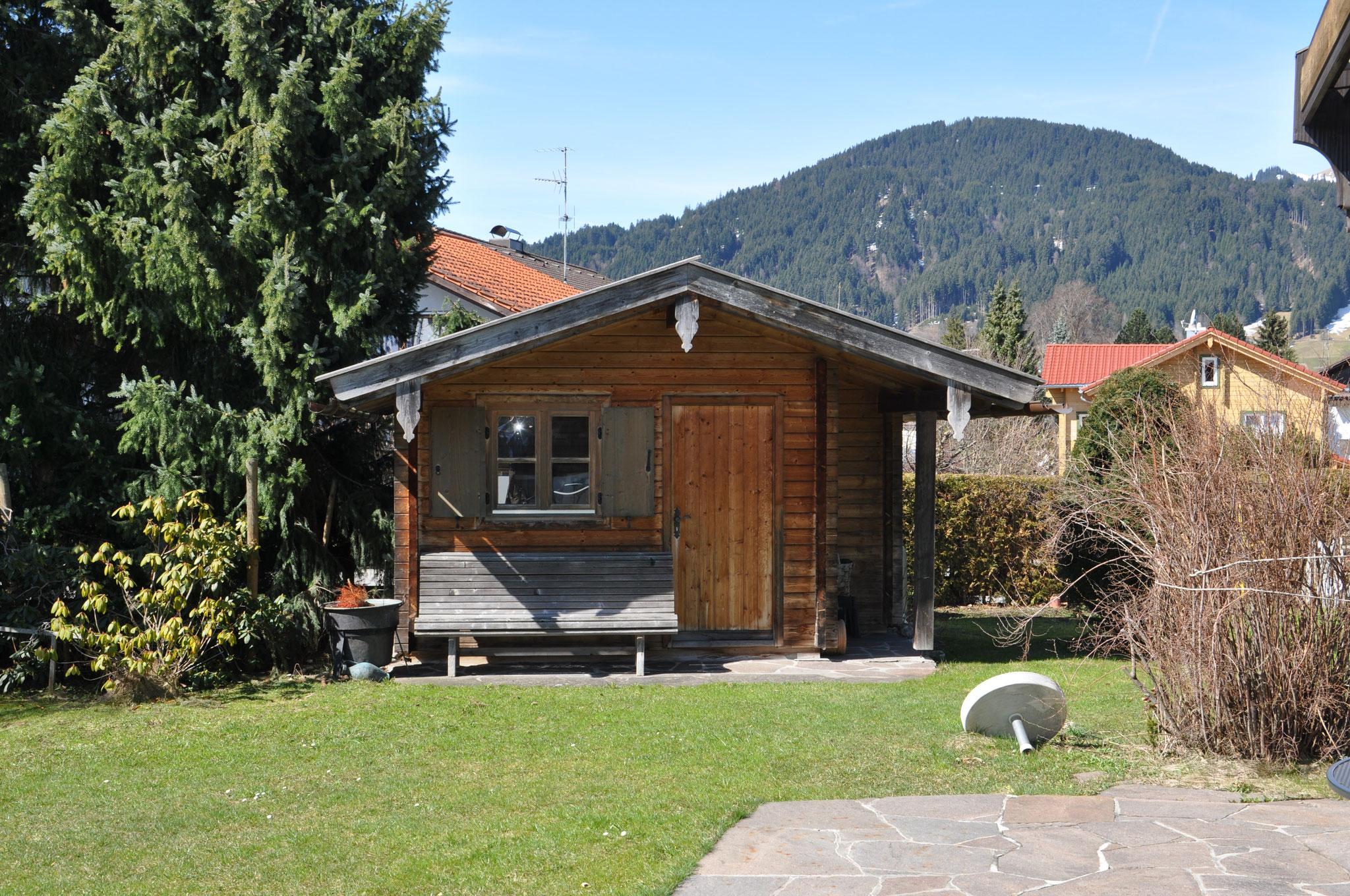 Gartenhaus mit Edelsberg